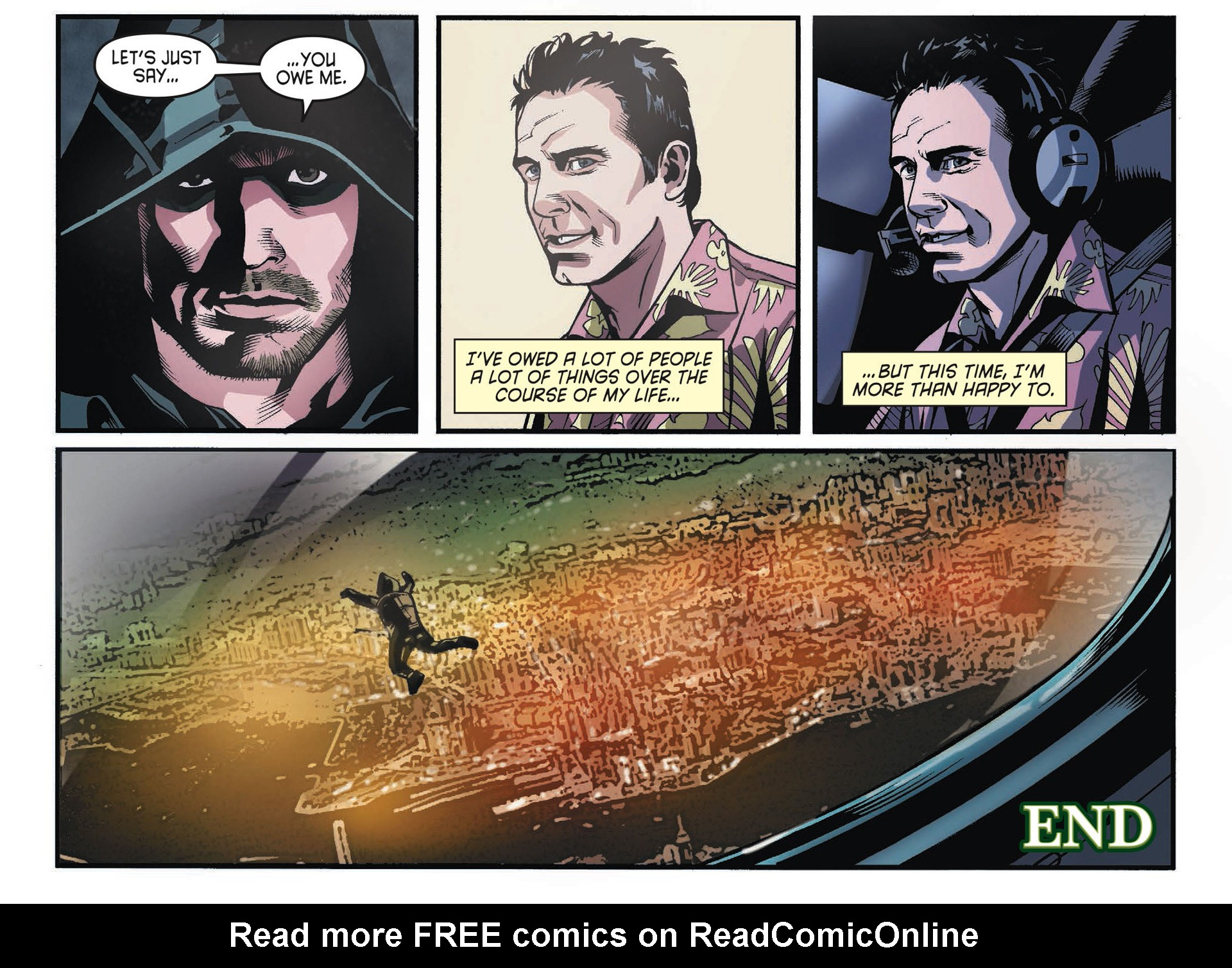 Read online Arrow [II] comic -  Issue #34 - 22