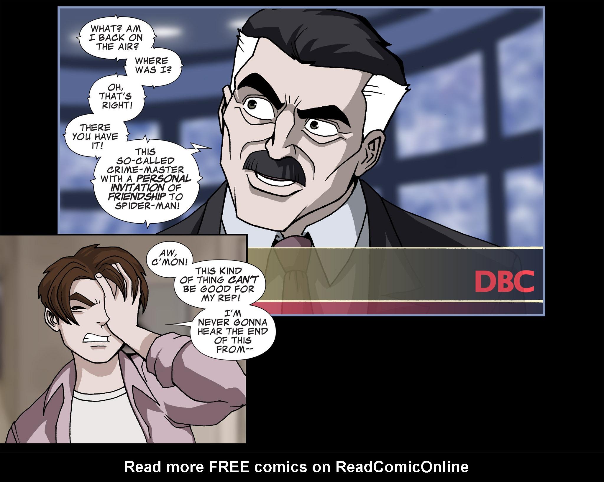 Read online Ultimate Spider-Man (Infinite Comics) (2015) comic -  Issue #17 - 23