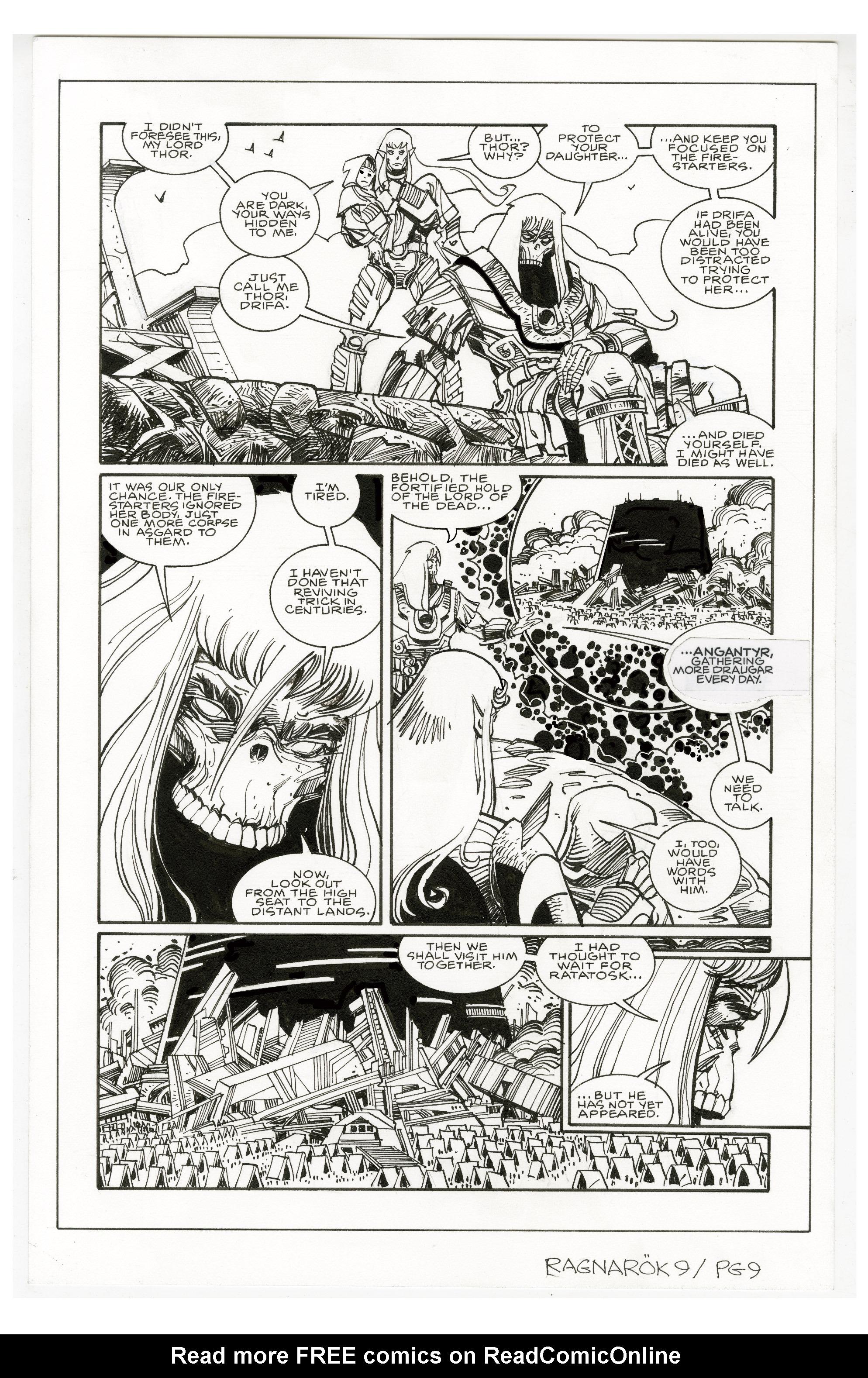 Read online Ragnarok comic -  Issue #9 - 30