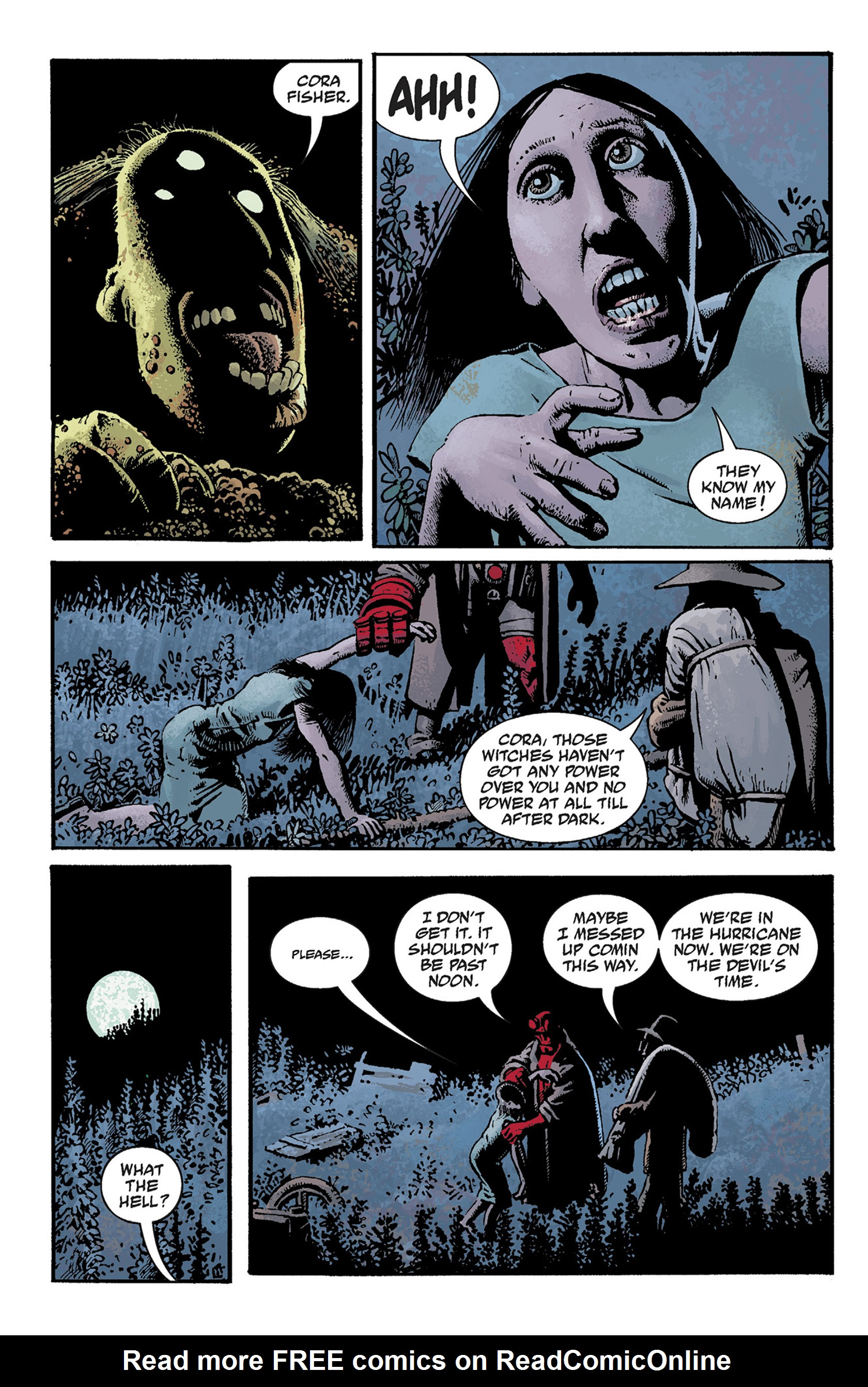 Read online Hellboy: The Crooked Man and Others comic -  Issue # TPB - 40