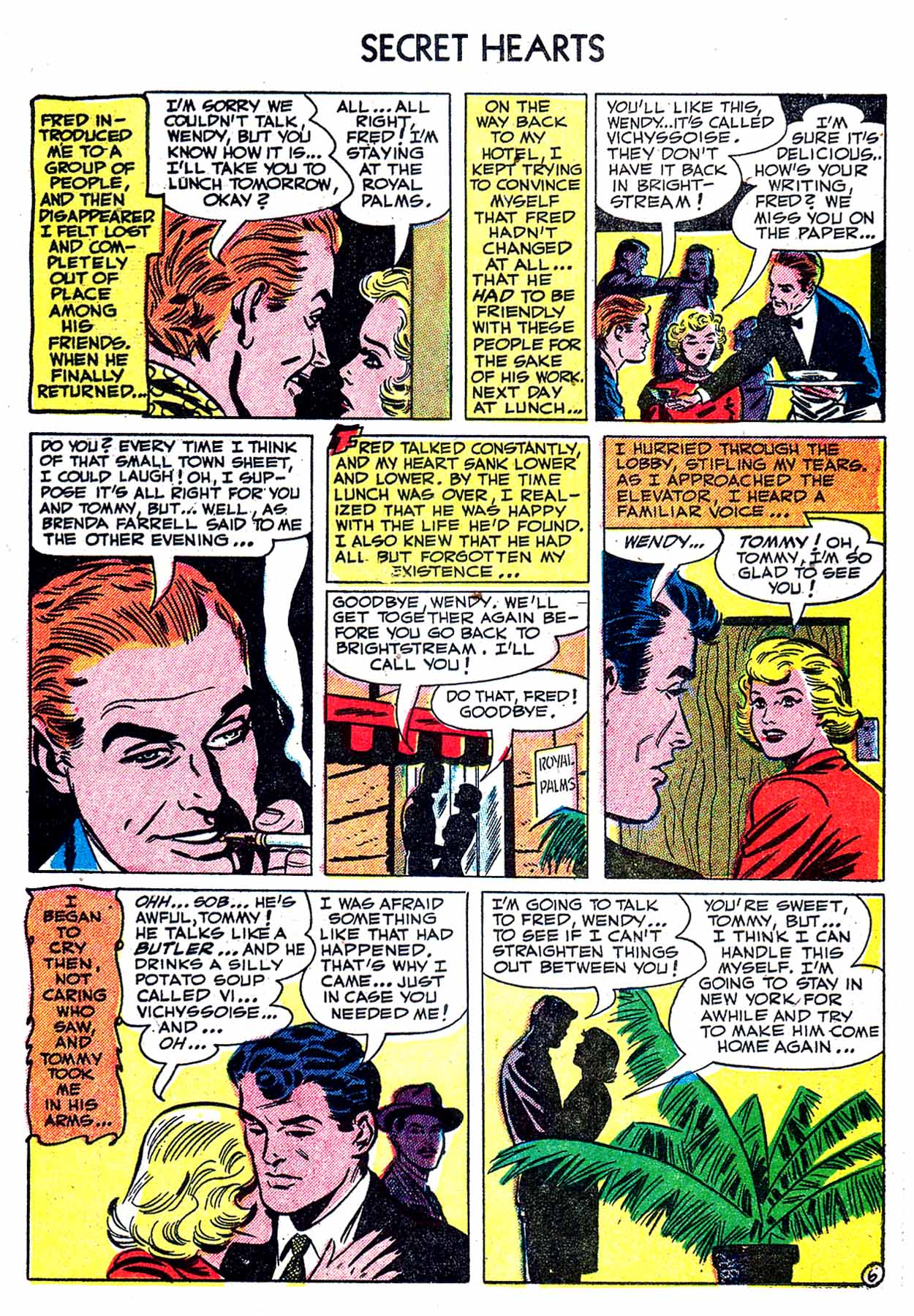 Read online Secret Hearts comic -  Issue #8 - 23