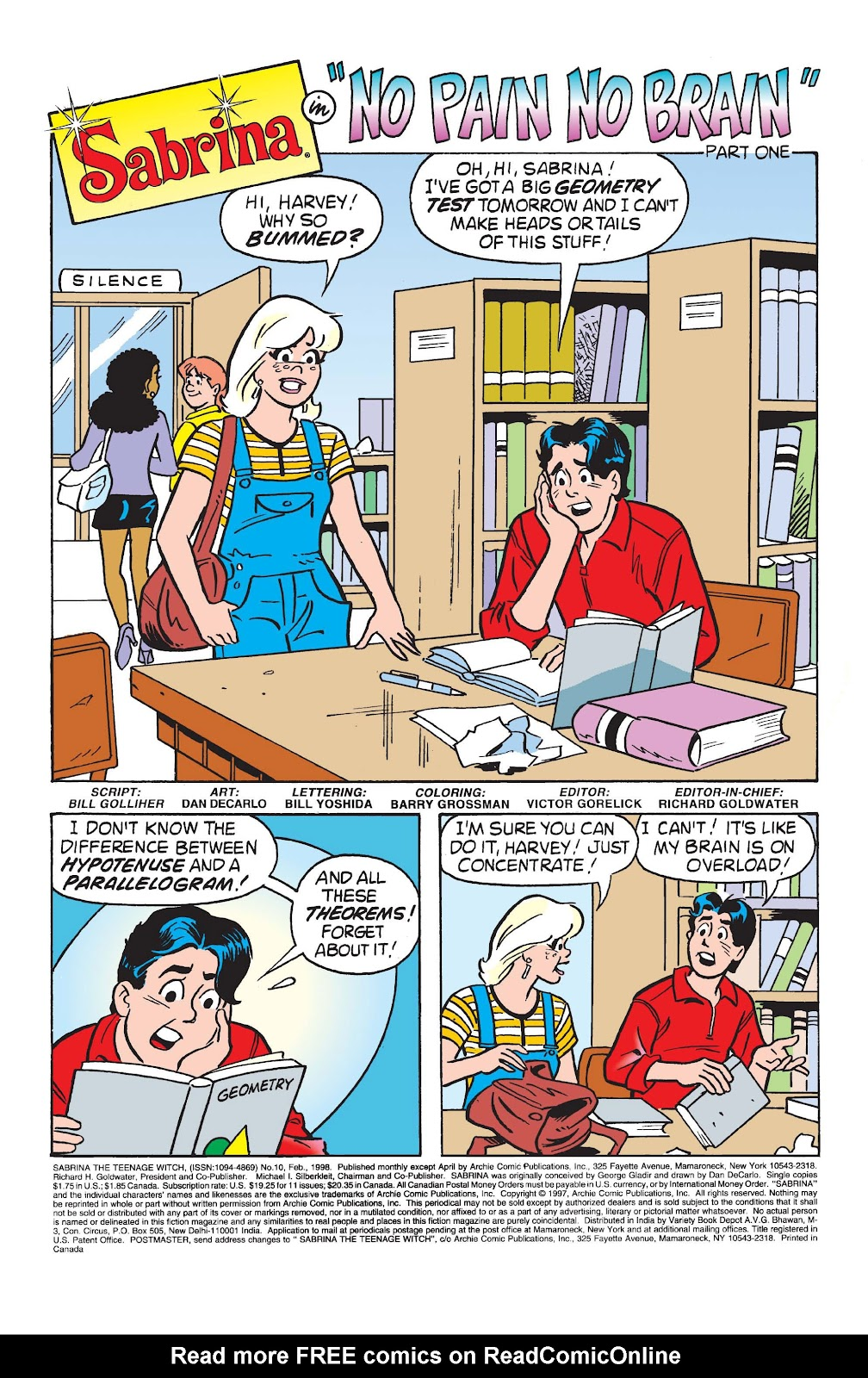 Sabrina the Teenage Witch (1997) Issue #10 #11 - English 2