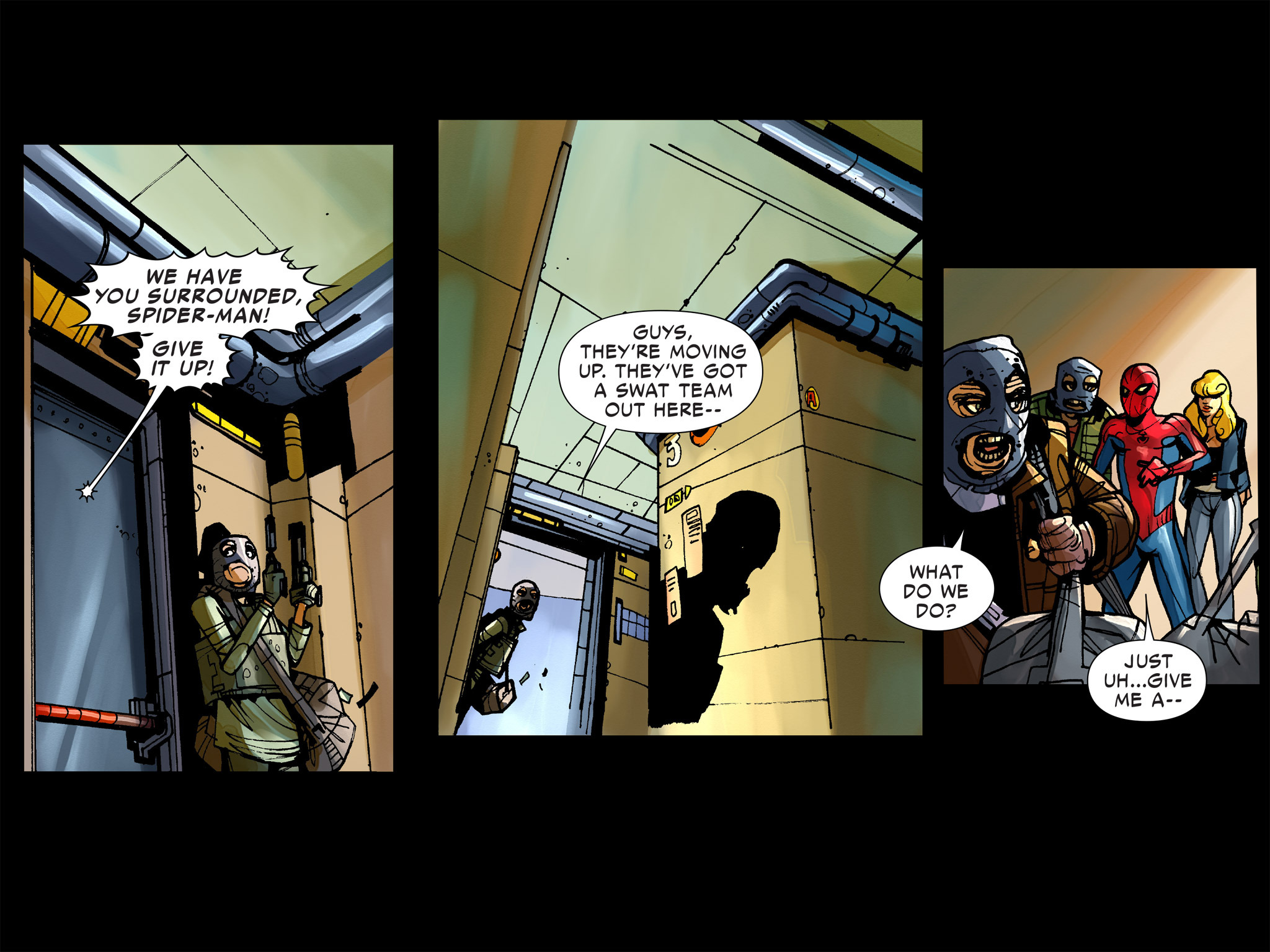 Read online Amazing Spider-Man: Who Am I? comic -  Issue # Full (Part 1) - 56
