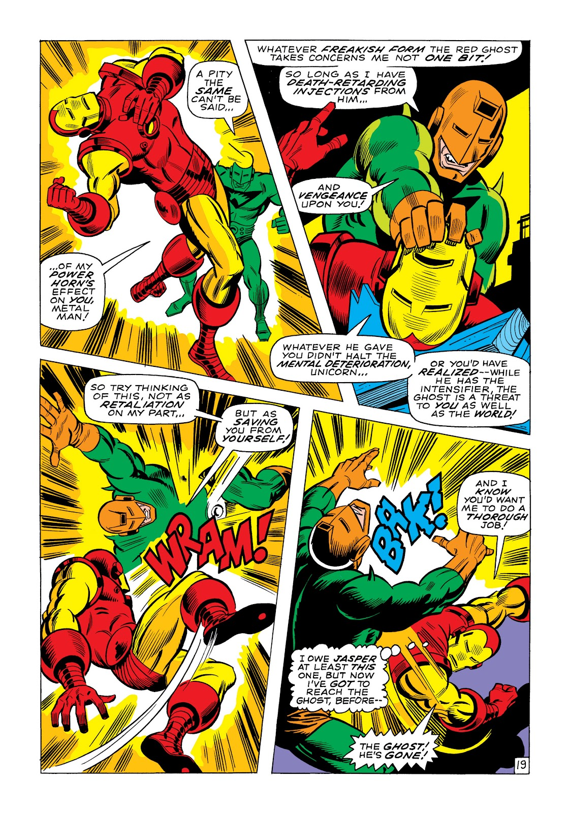 Read online Marvel Masterworks: The Invincible Iron Man comic -  Issue # TPB 6 (Part 1) - 46