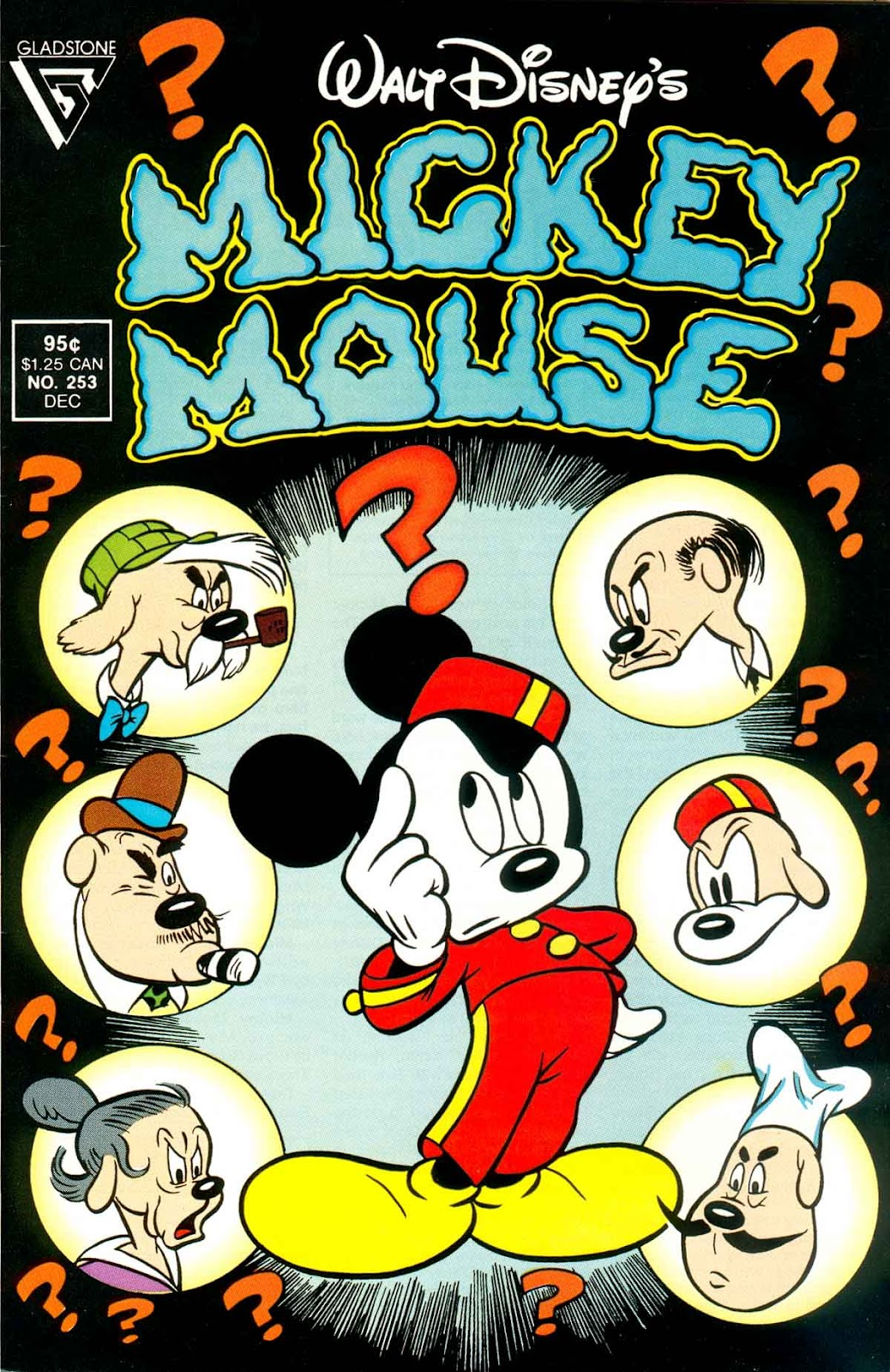 Walt Disney's Mickey Mouse issue 253 - Page 1