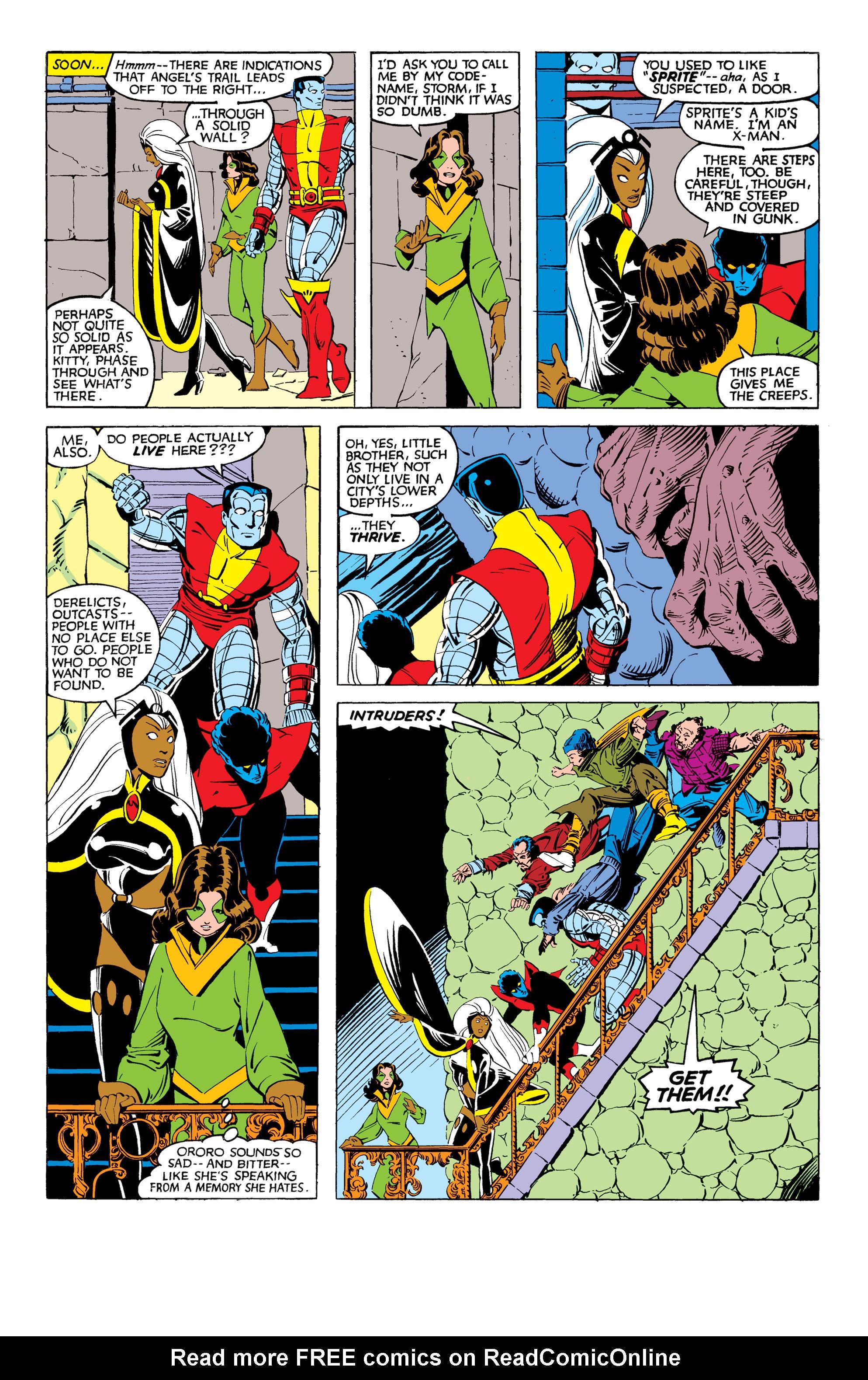Read online Uncanny X-Men (1963) comic -  Issue #169 - 12