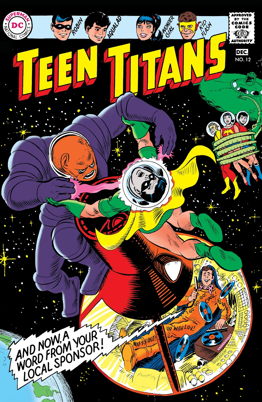 Teen Titans (1966) issue 12 - Page 1