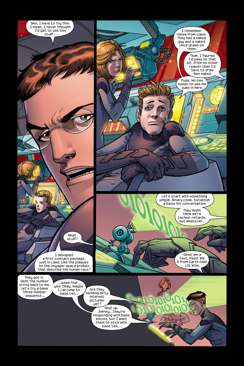 Read online Ultimate Fantastic Four (2004) comic -  Issue #15 - 17
