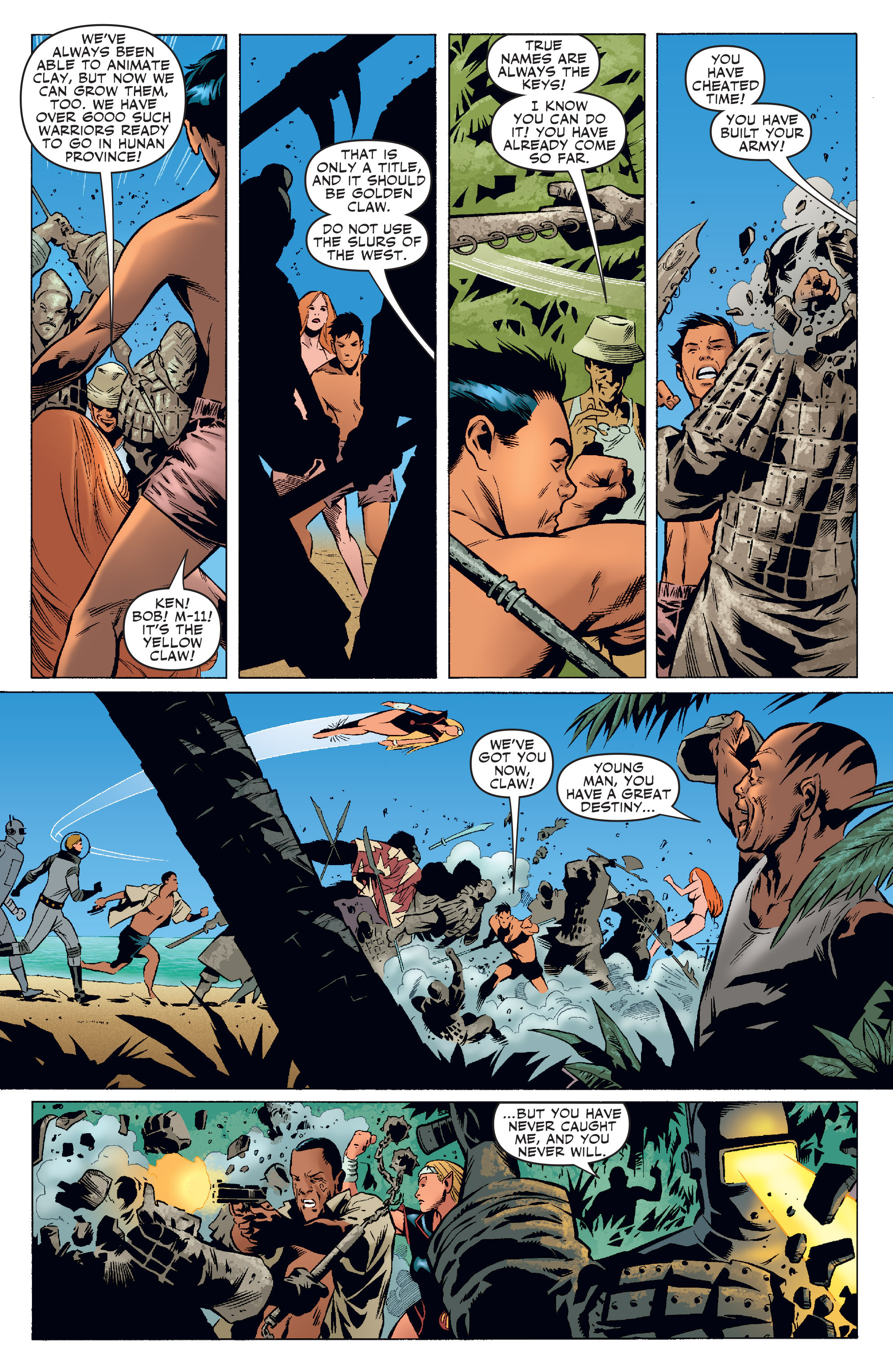 Read online Agents Of Atlas (2006) comic -  Issue #4 - 22