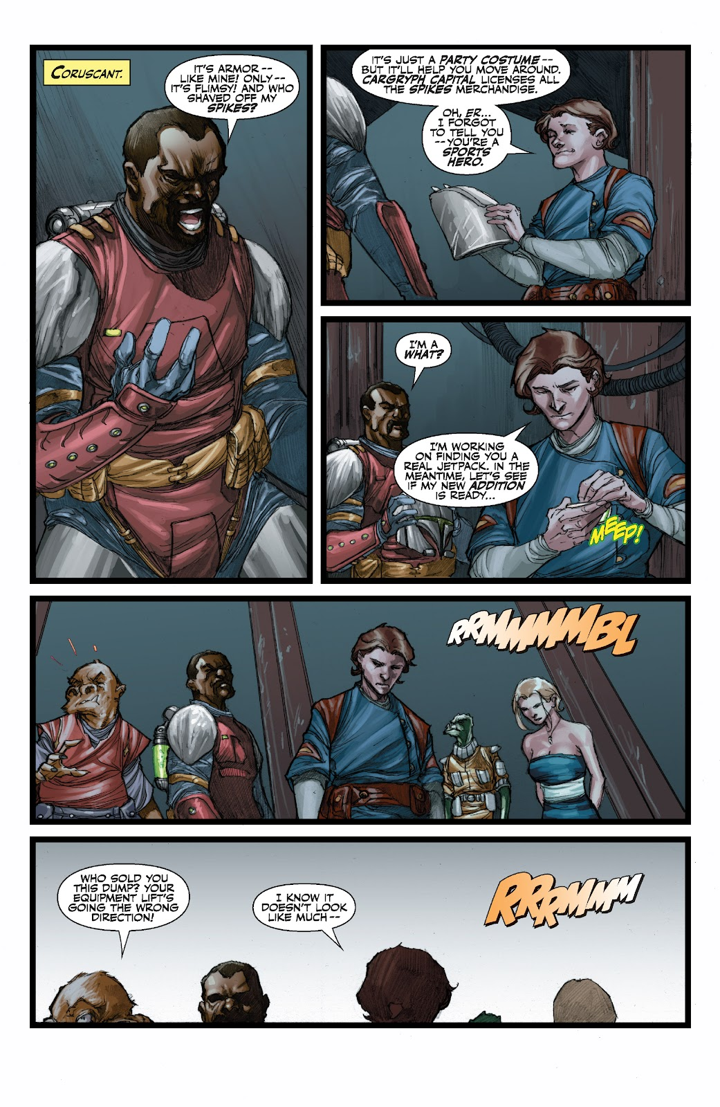 Read online Star Wars Legends: The Old Republic - Epic Collection comic -  Issue # TPB 3 (Part 3) - 50