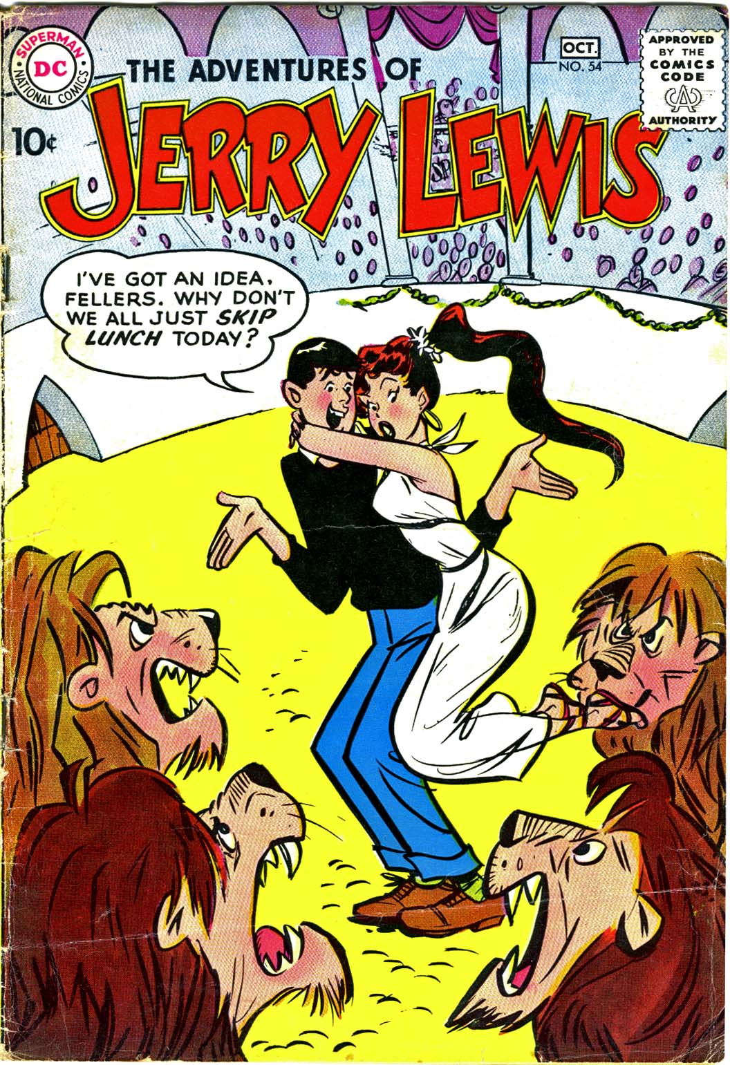 The Adventures of Jerry Lewis 54 Page 1