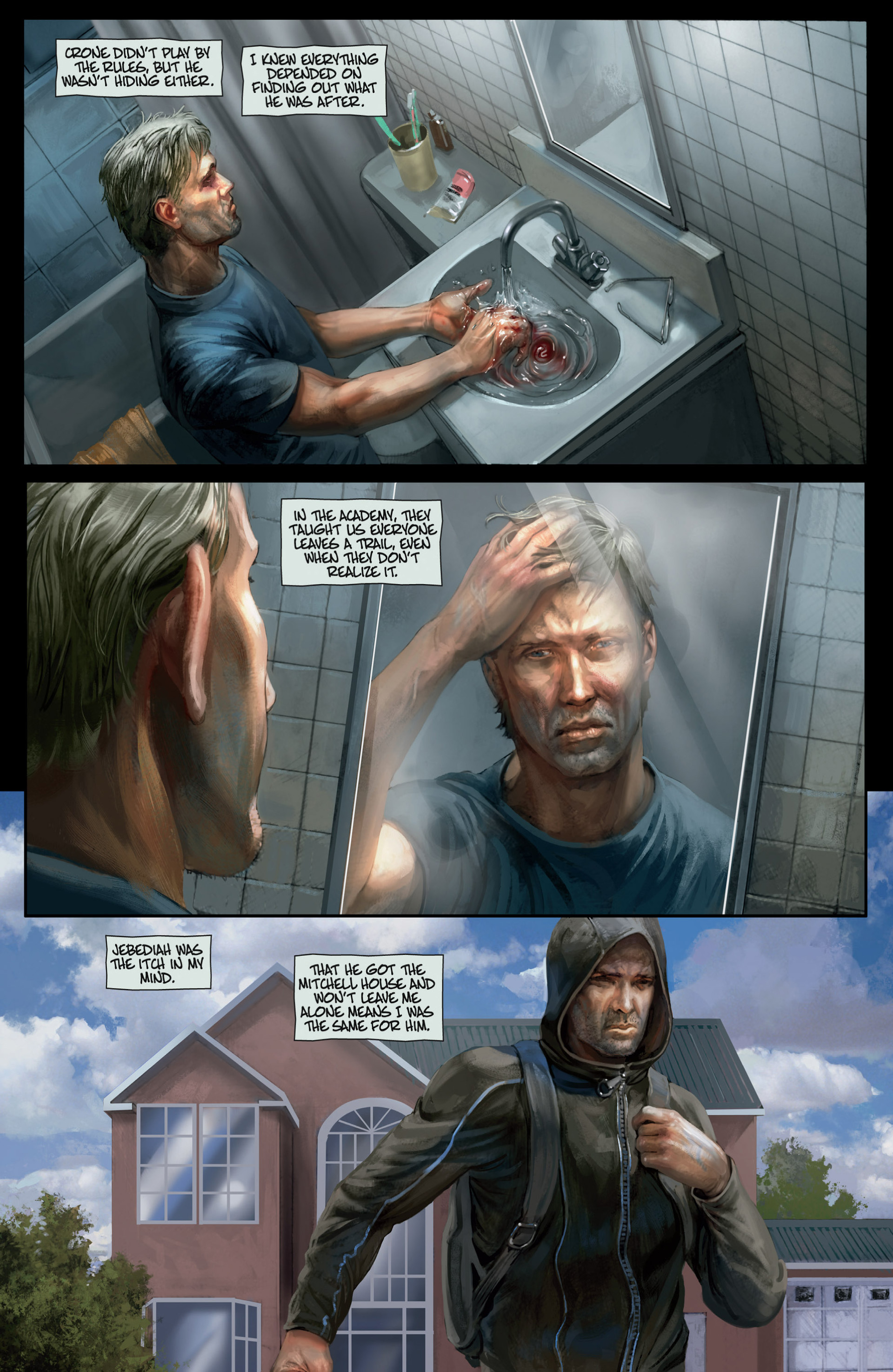 Read online Abattoir comic -  Issue #3 - 7