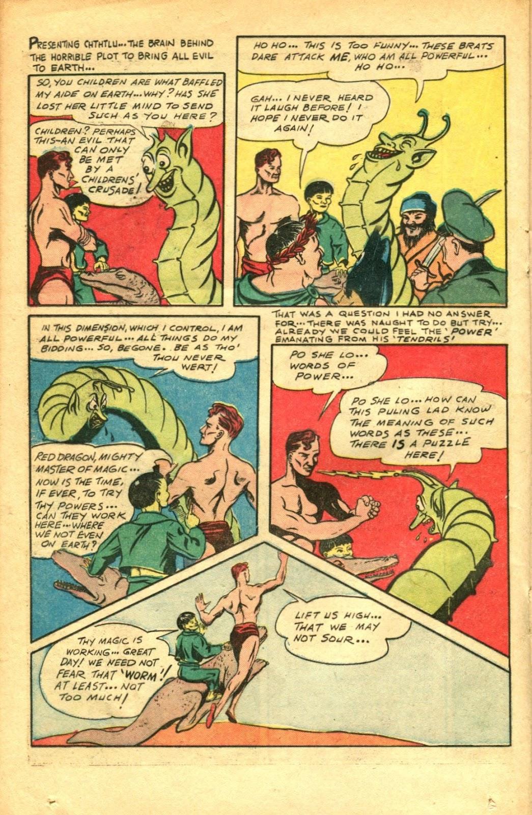 Read online Super-Magician Comics comic -  Issue #48 - 28