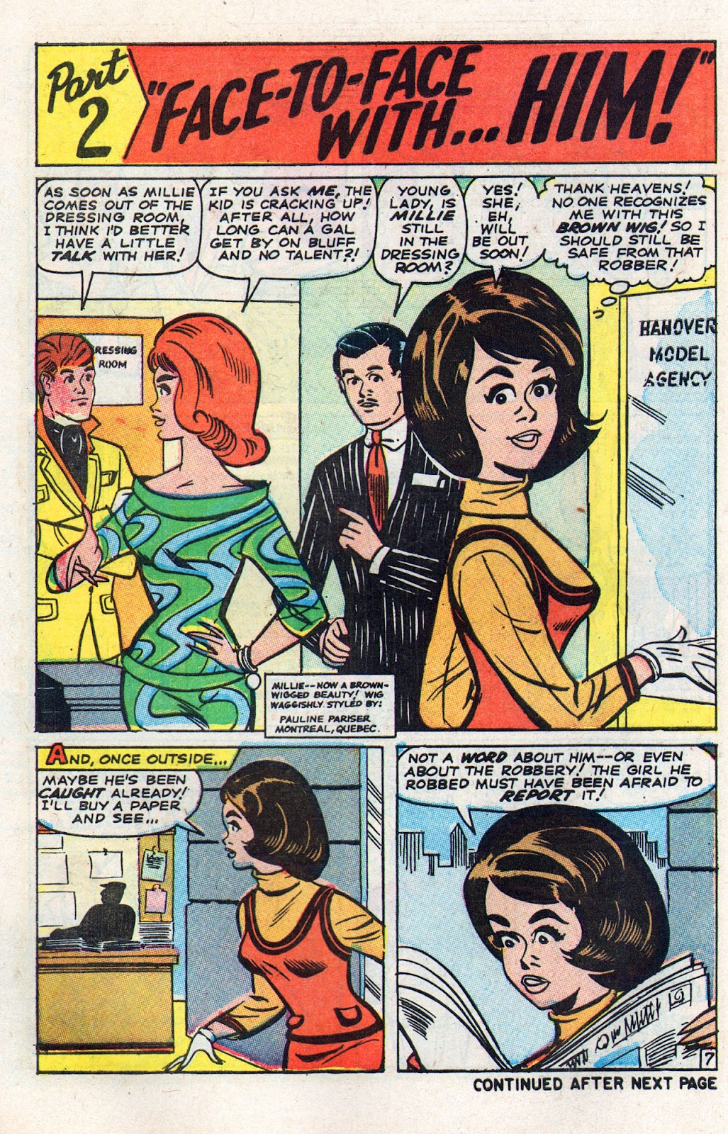 Read online Millie the Model comic -  Issue # Annual 6 - 34