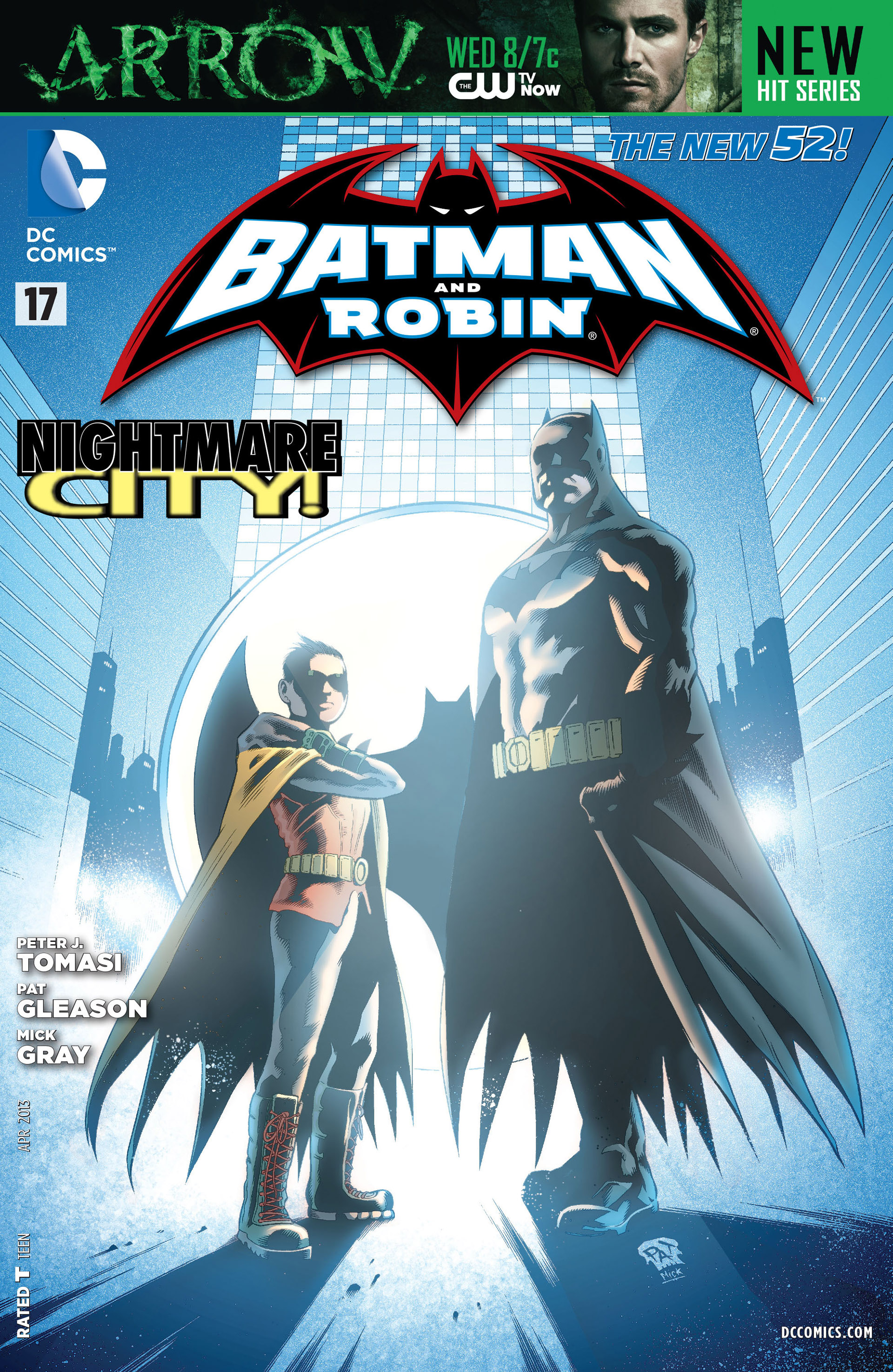 Read online Batman and Robin (2011) comic -  Issue #17 - 1
