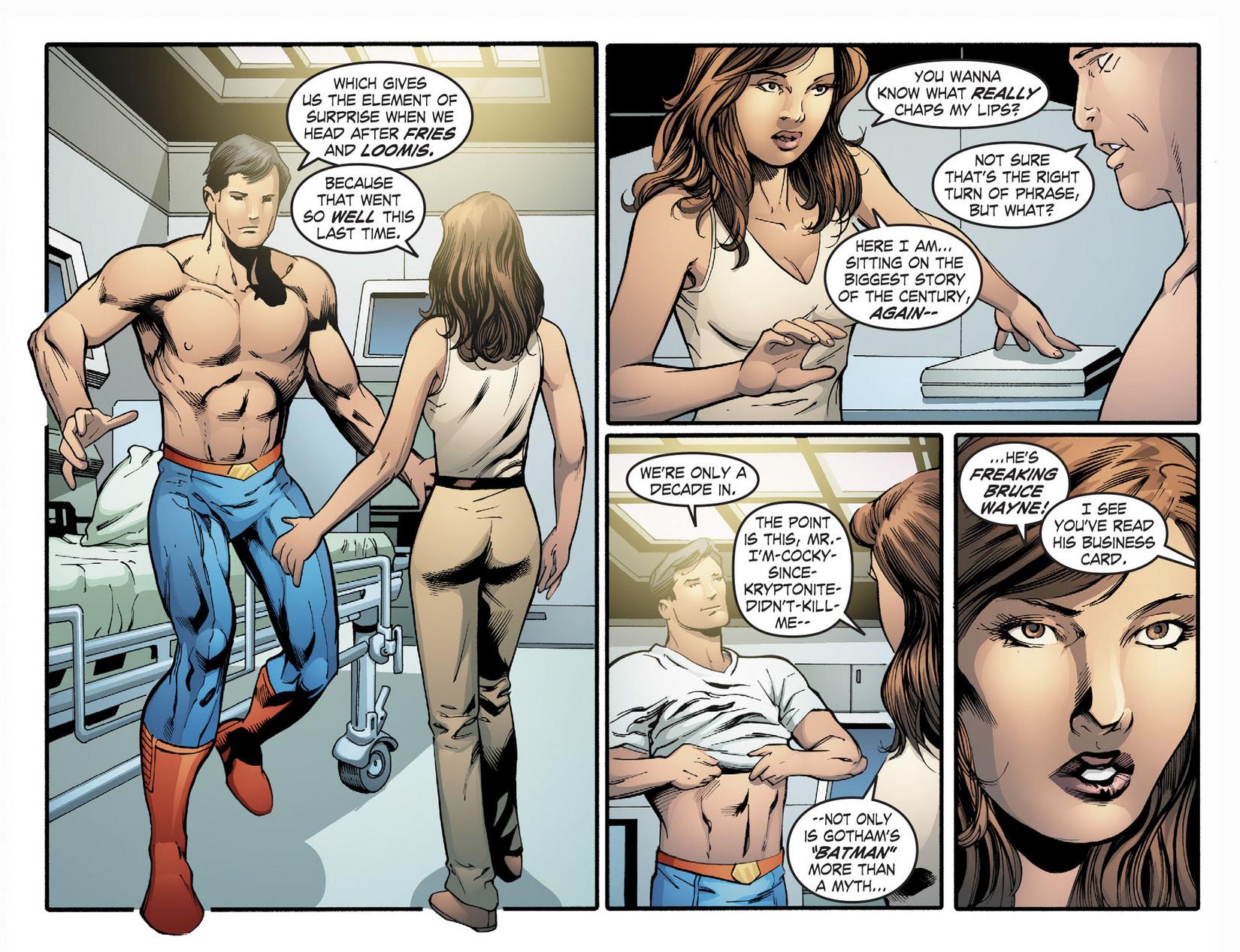 Read online Smallville: Season 11 comic -  Issue #22 - 9
