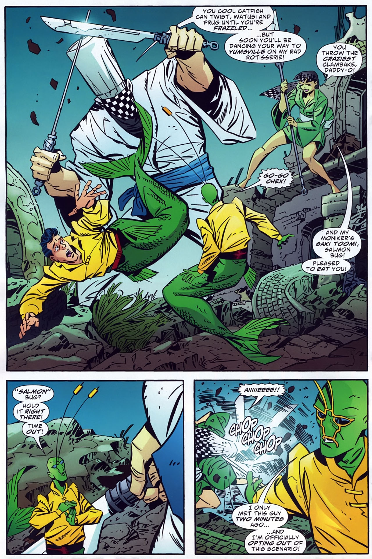 Read online Ambush Bug: Year None comic -  Issue #3 - 18