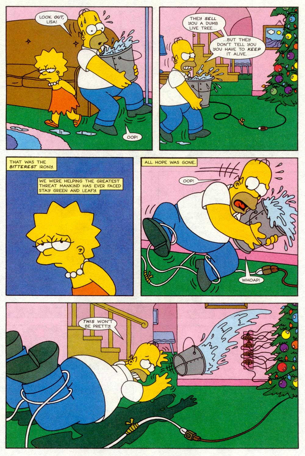 Read online Treehouse of Horror comic -  Issue #4 - 13