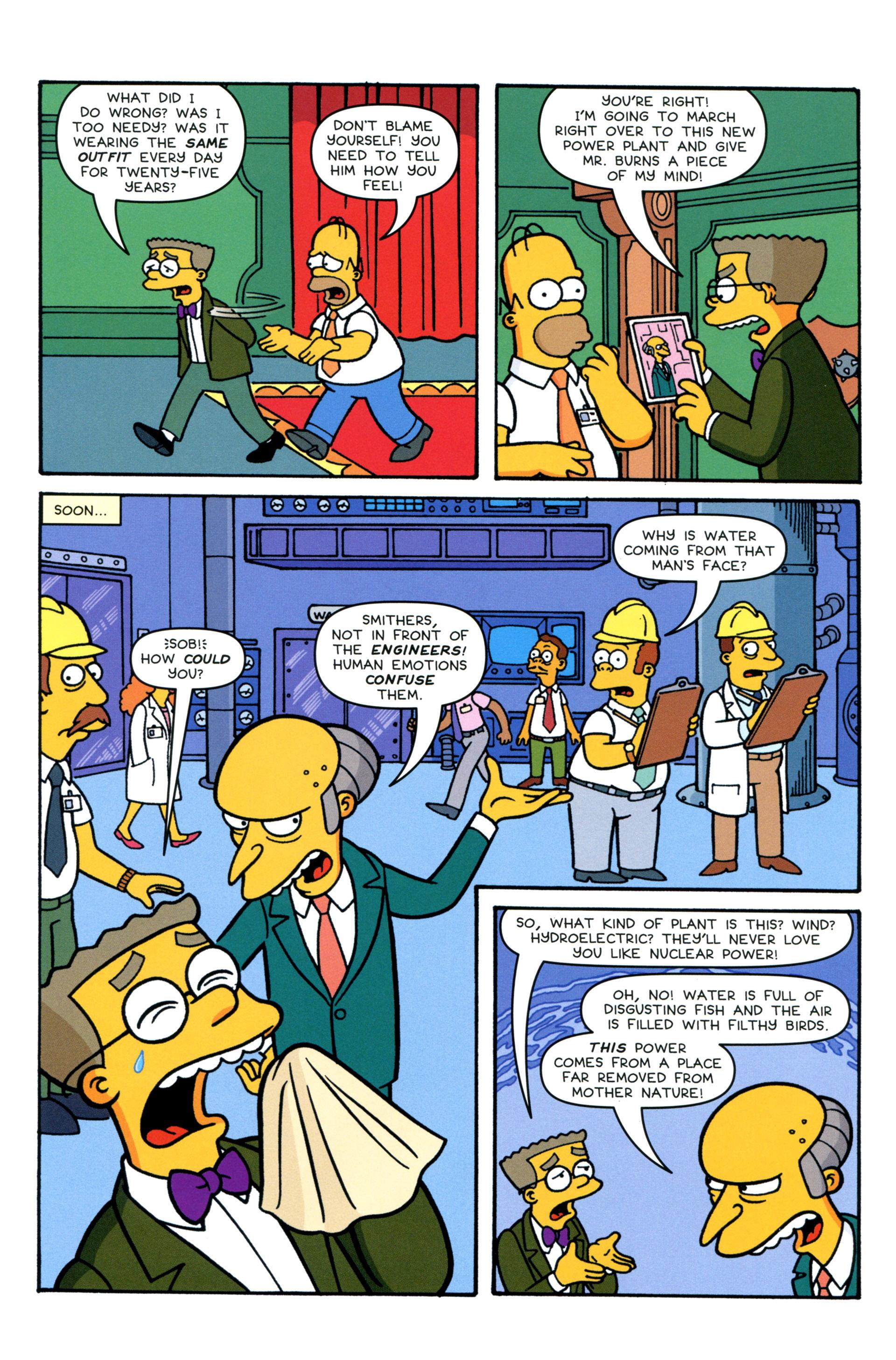 Read online Simpsons Comics comic -  Issue #206 - 6