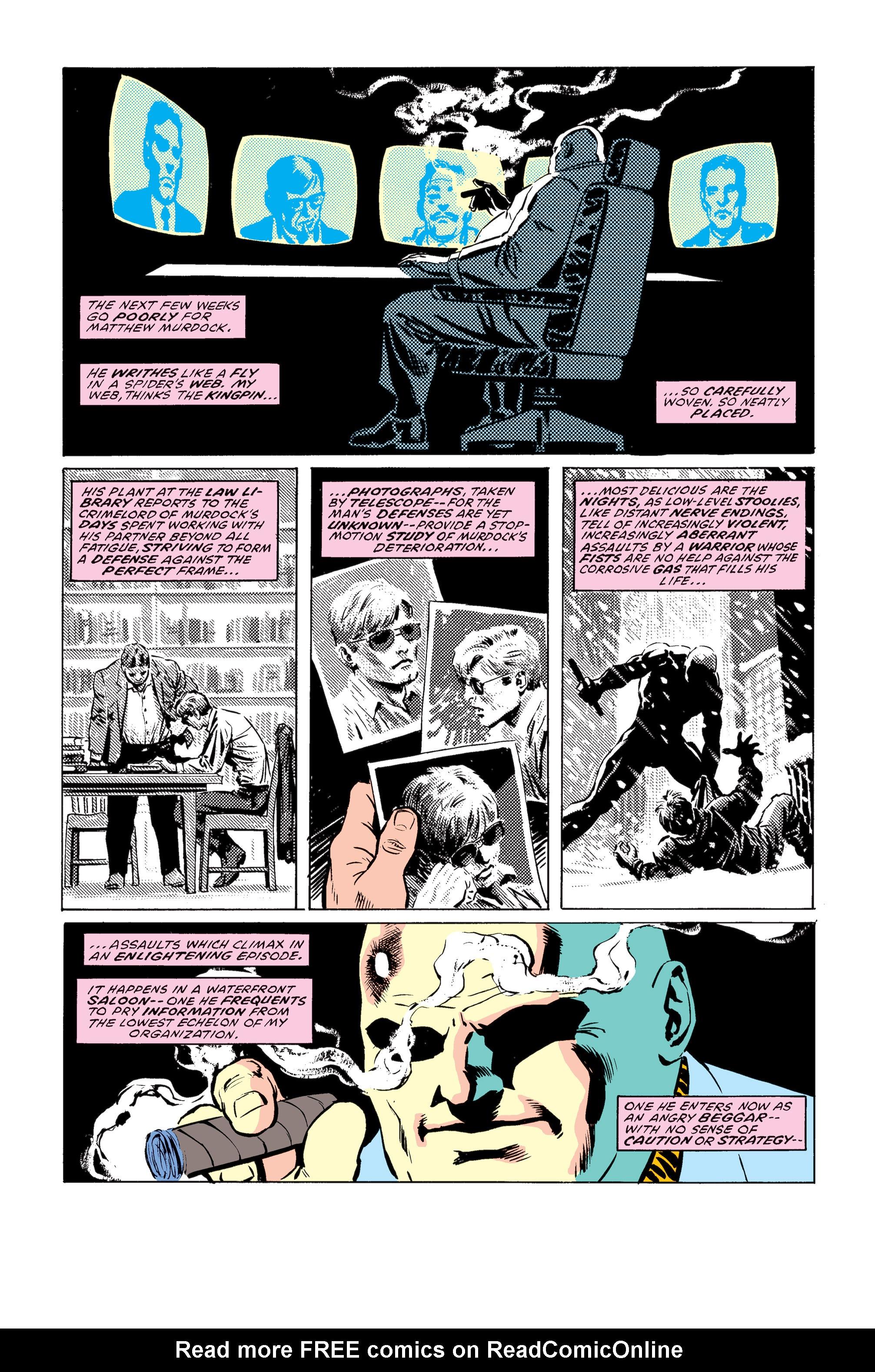 Read online Daredevil: Born Again comic -  Issue # Full - 46