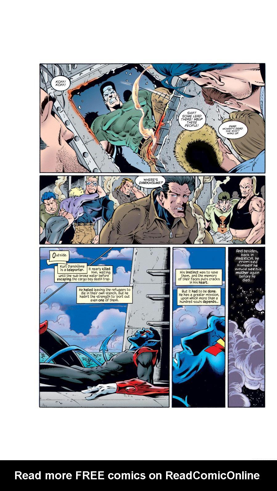 Read online X-Calibre comic -  Issue #2 - 11