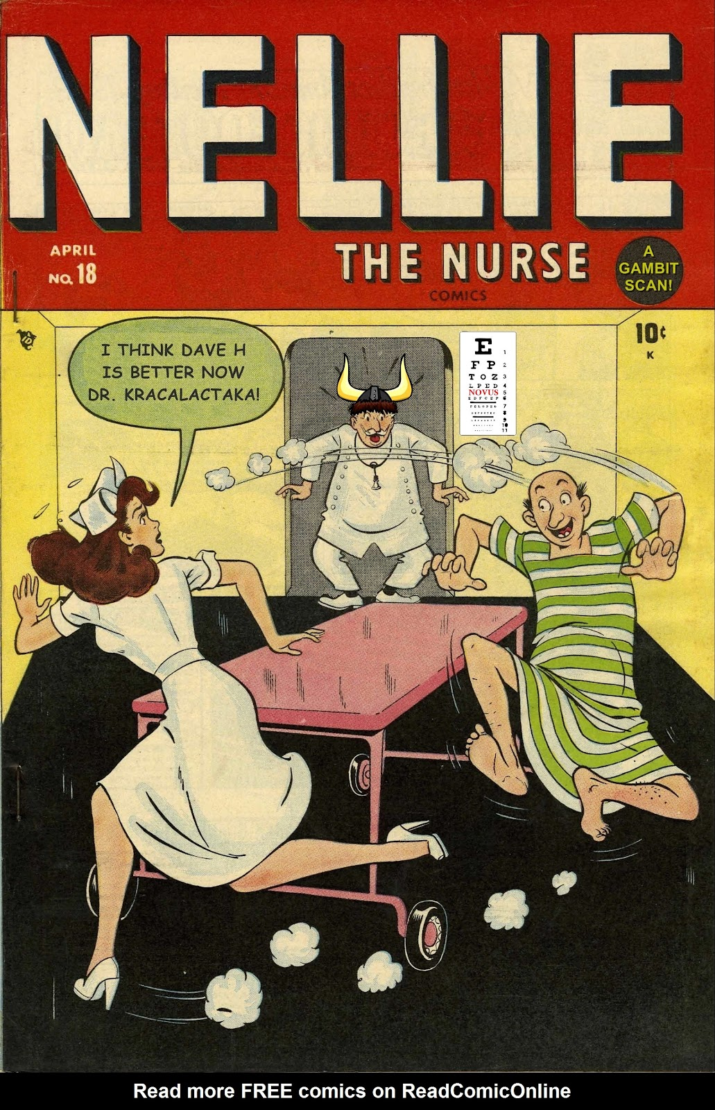 Read online Nellie The Nurse (1945) comic -  Issue #18 - 53