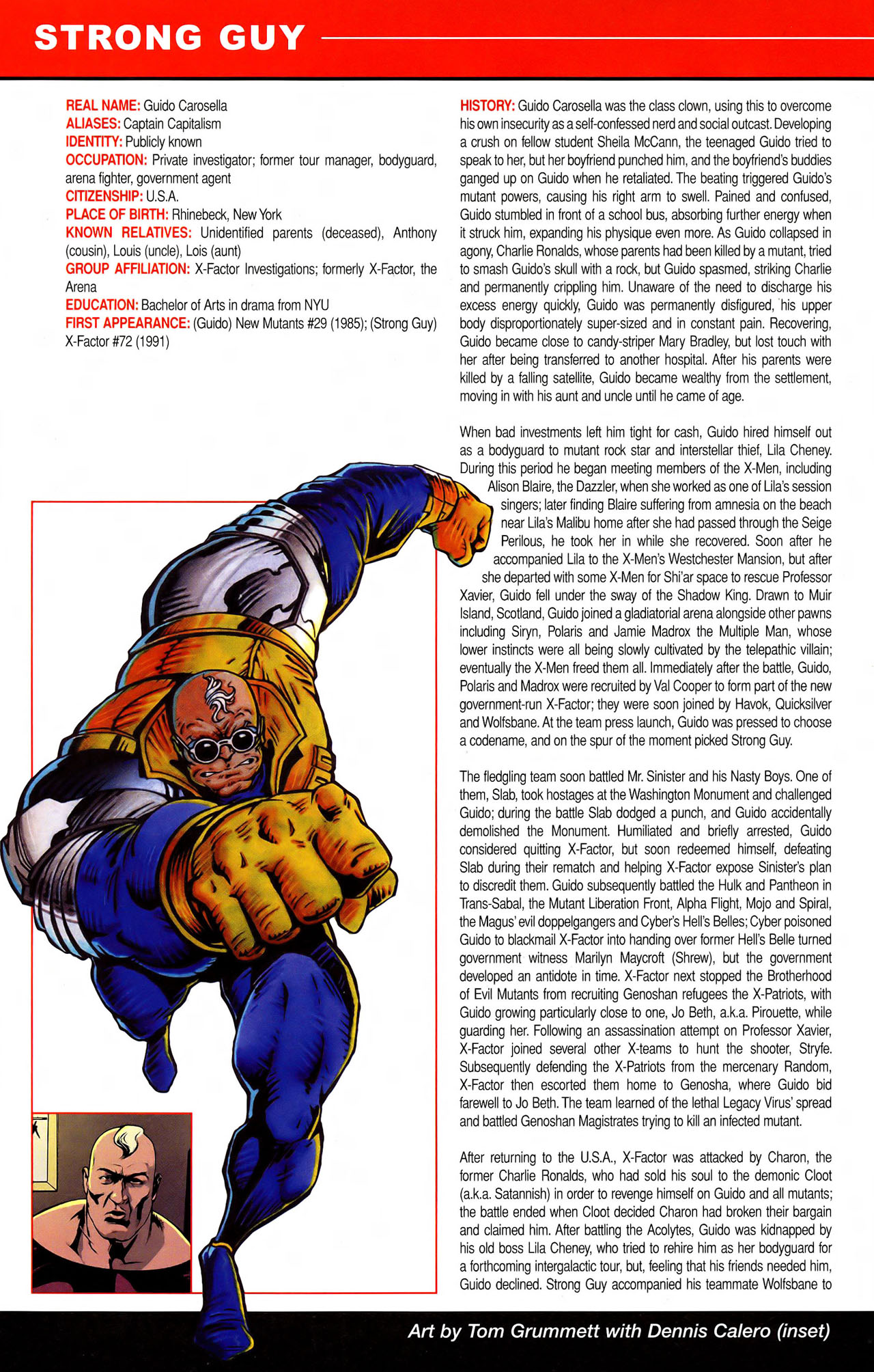 Read online All-New Official Handbook of the Marvel Universe A to Z comic -  Issue #11 - 6
