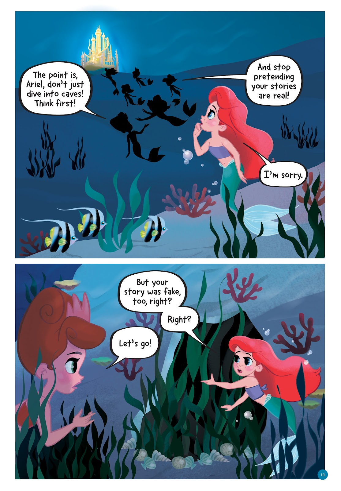 Read online Disney Princess: Ariel and the Sea Wolf comic -  Issue # Full - 10