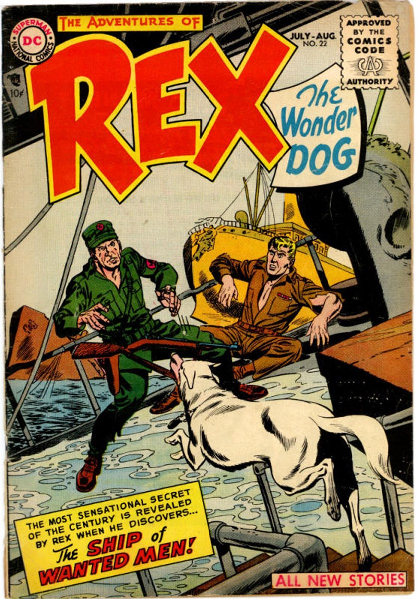 The Adventures of Rex the Wonder Dog issue 22 - Page 1
