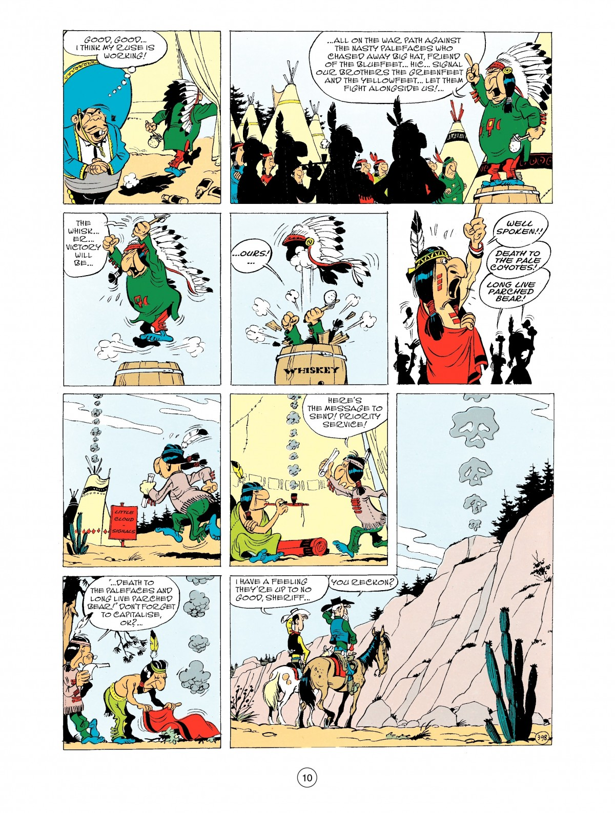 Read online A Lucky Luke Adventure comic -  Issue #43 - 10