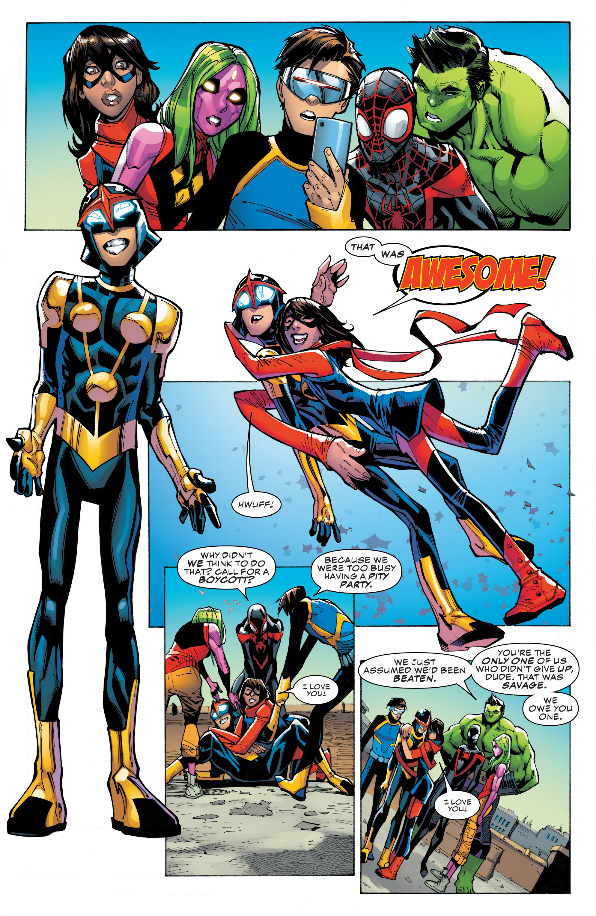 Read online Champions (2016) comic -  Issue #8 - 20