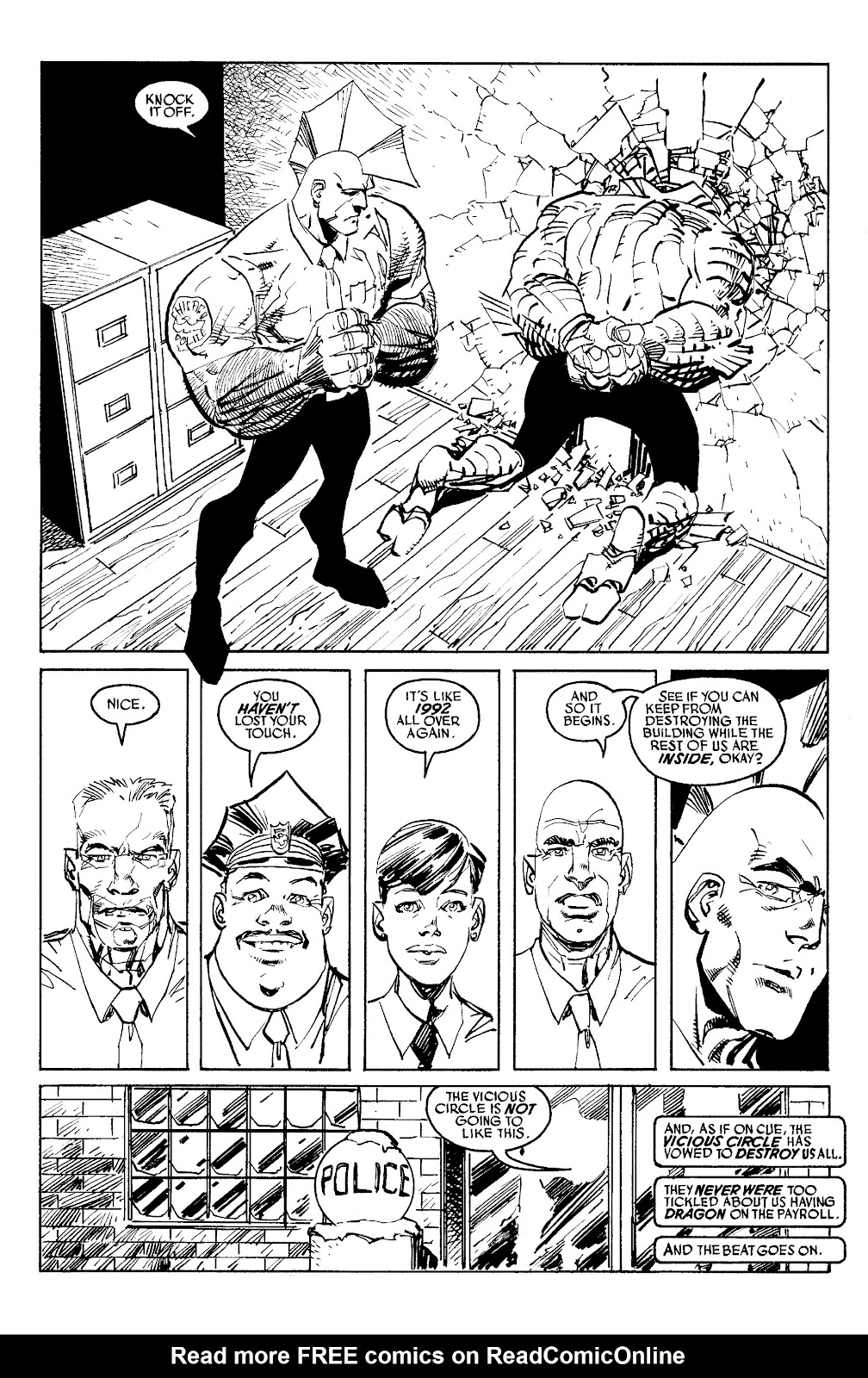 Read online Savage Dragon Archives comic -  Issue # TPB 6 (Part 4) - 83