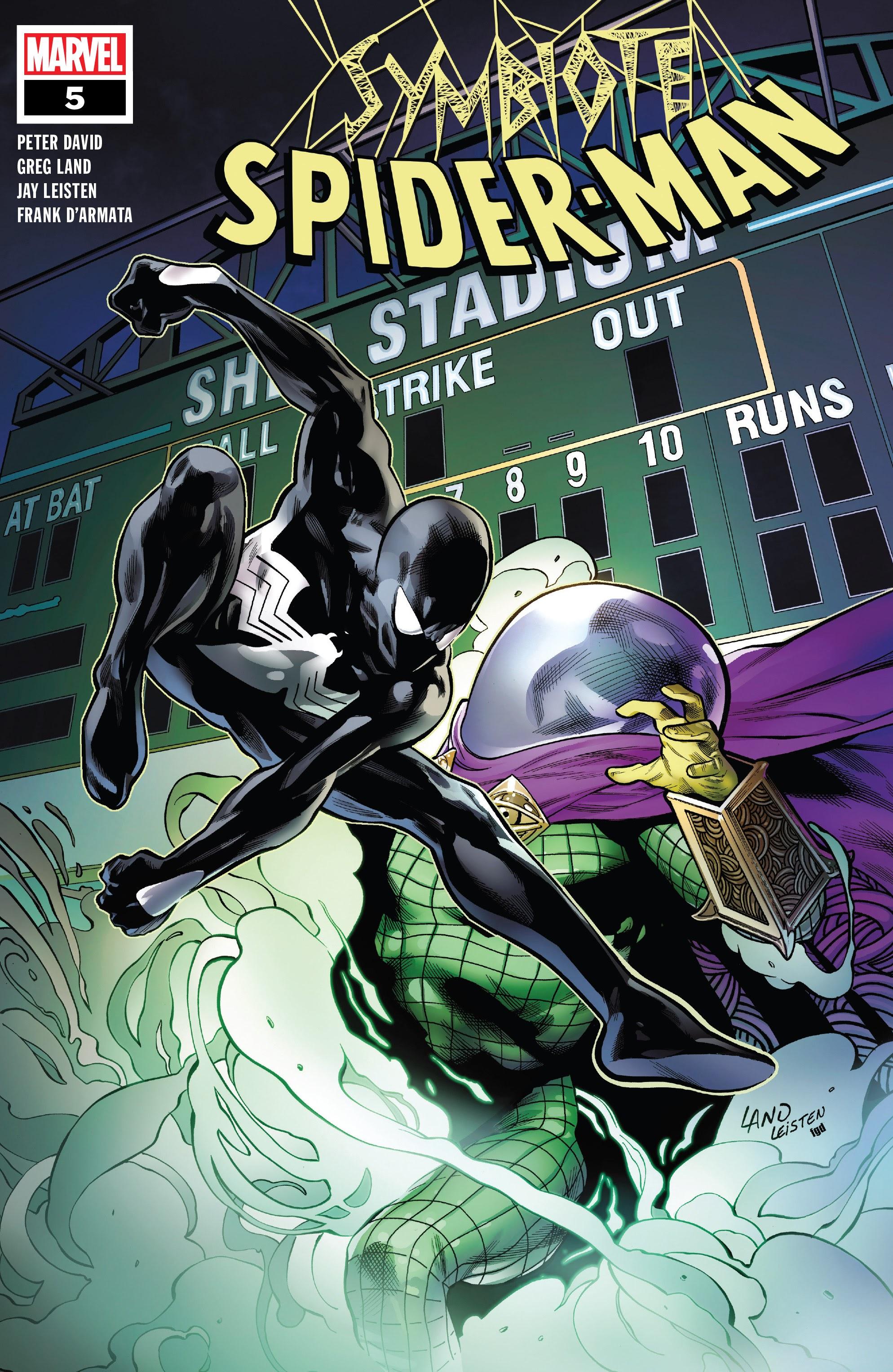 Symbiote Spider-Man 5 Page 1