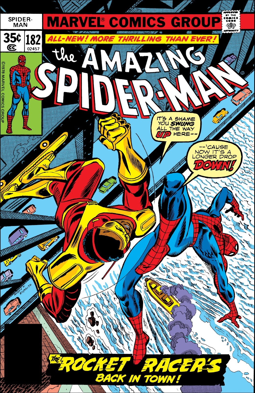 The Amazing Spider-Man (1963) 182 Page 1