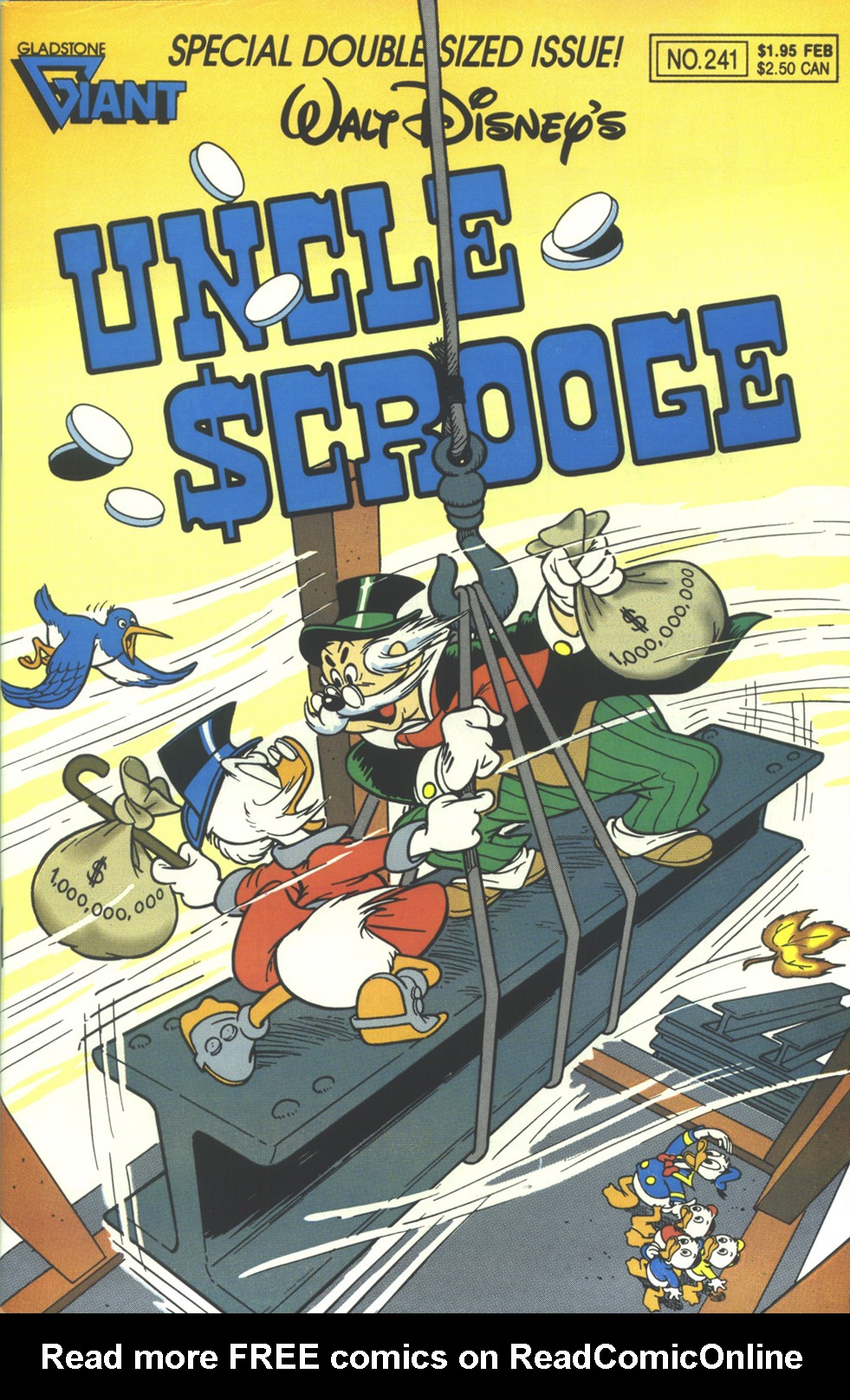 Read online Uncle Scrooge (1953) comic -  Issue #241 - 1
