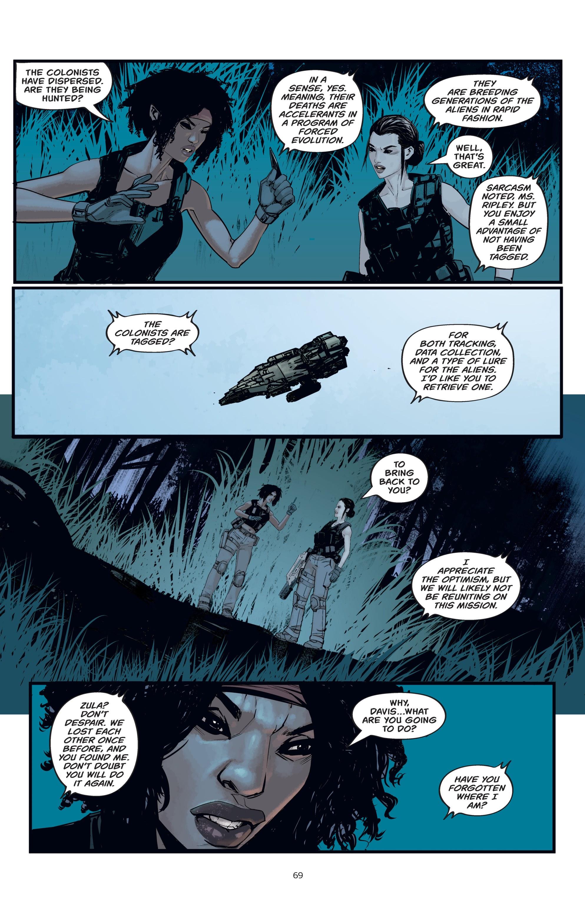 Read online Aliens: Resistance comic -  Issue # _TPB - 69