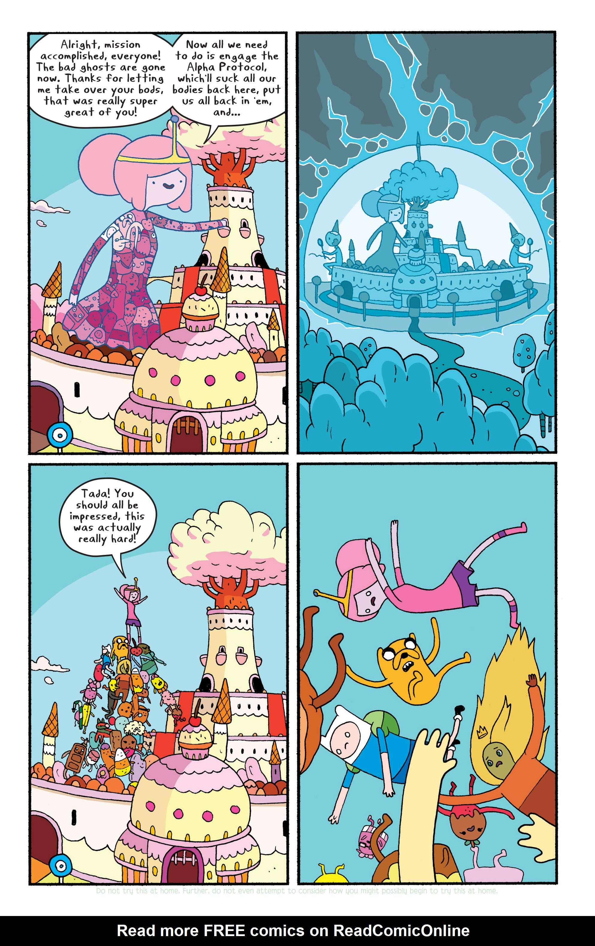 Read online Adventure Time comic -  Issue #29 - 14