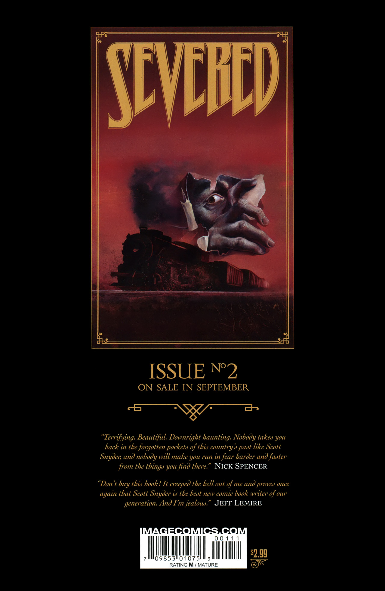 Read online Severed comic -  Issue #1 - 32