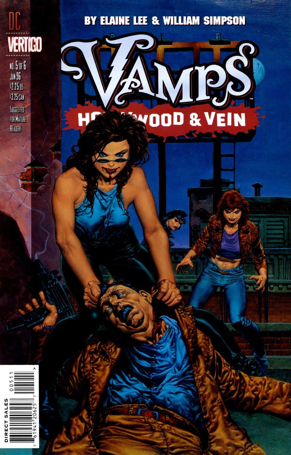 Vamps: Hollywood & Vein 5 Page 1