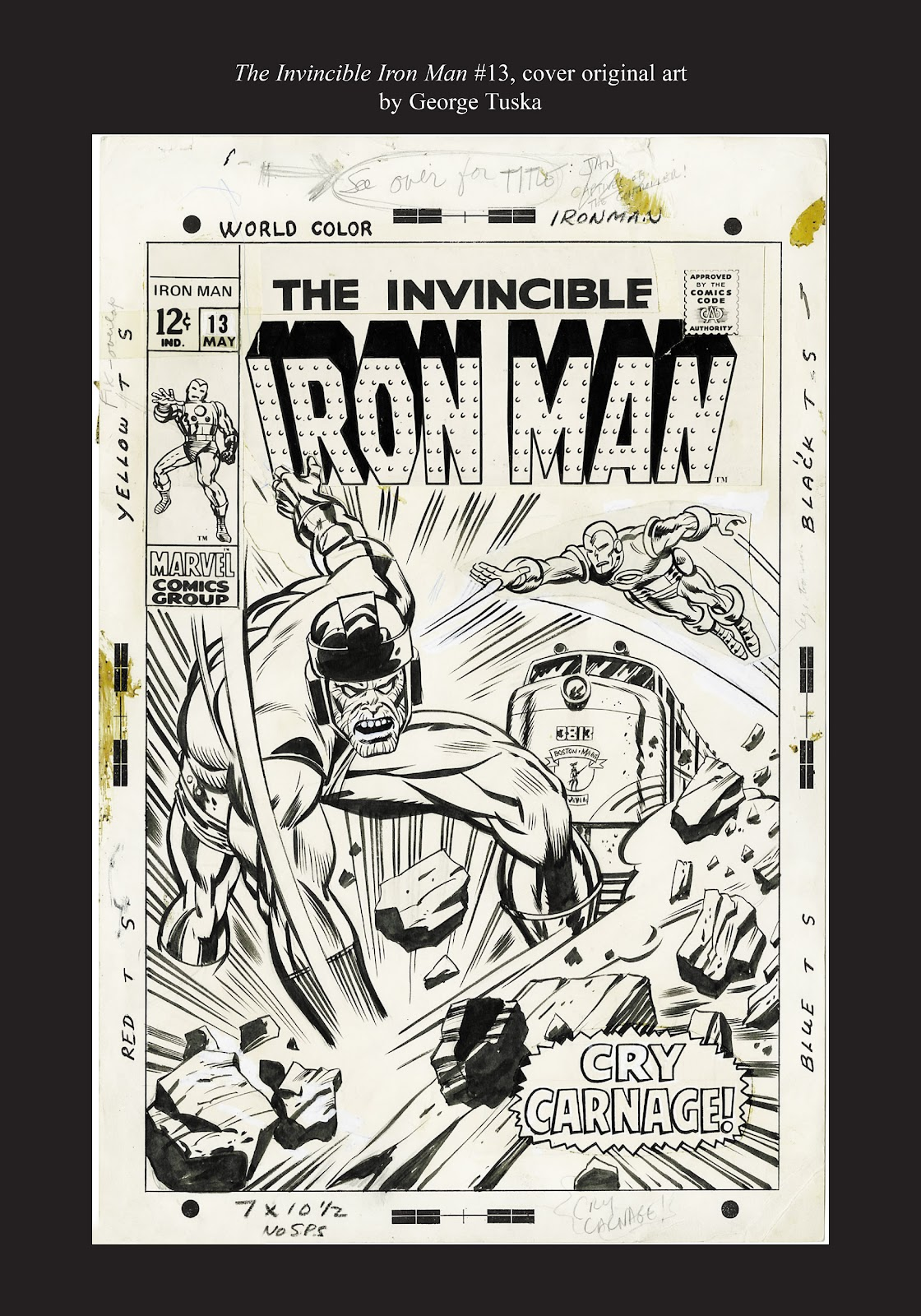 Read online Marvel Masterworks: The Invincible Iron Man comic -  Issue # TPB 5 (Part 3) - 68