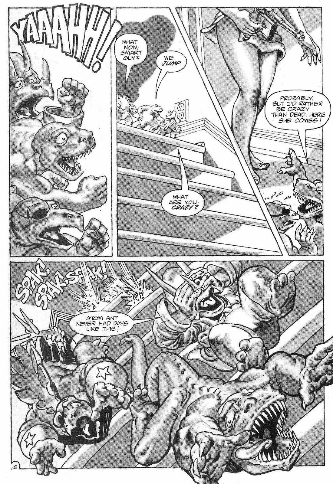 Dinosaurs For Hire (1988) issue 6 - Page 14