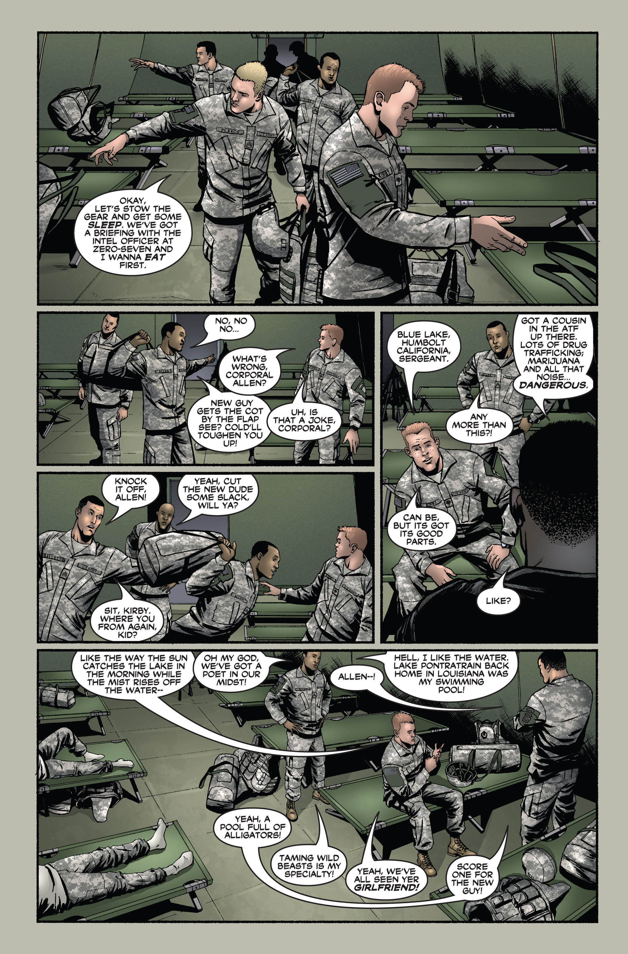 Read online America's Army comic -  Issue #1 - 8