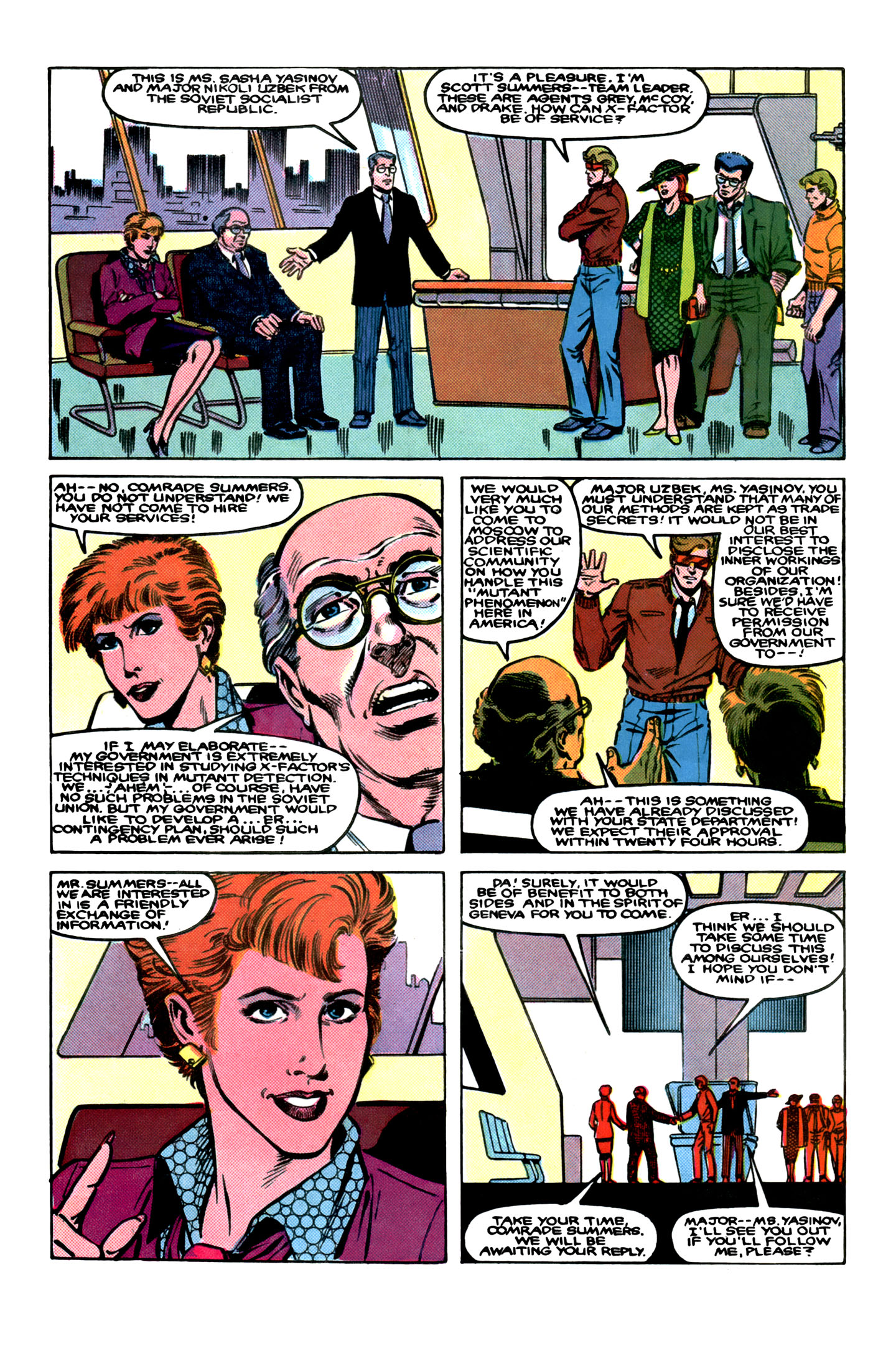 Read online X-Factor (1986) comic -  Issue # _ Annual 1 - 6