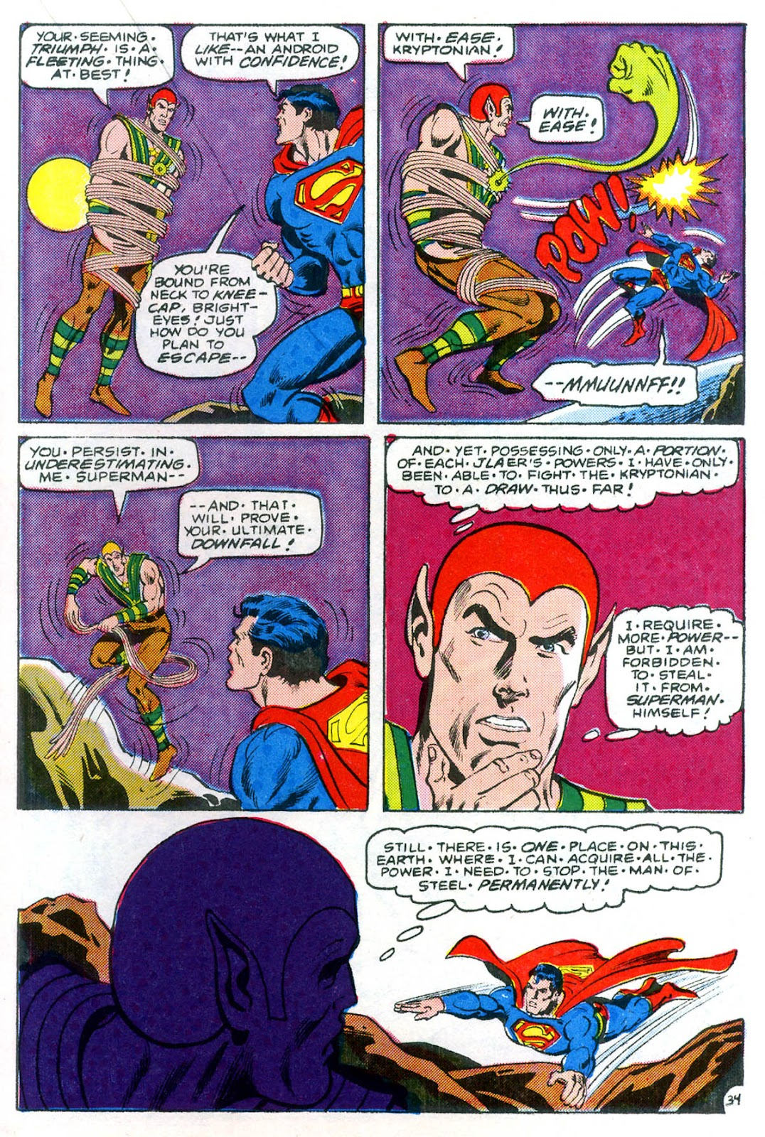 Read online Superman Special (1983) comic -  Issue #3 - 35