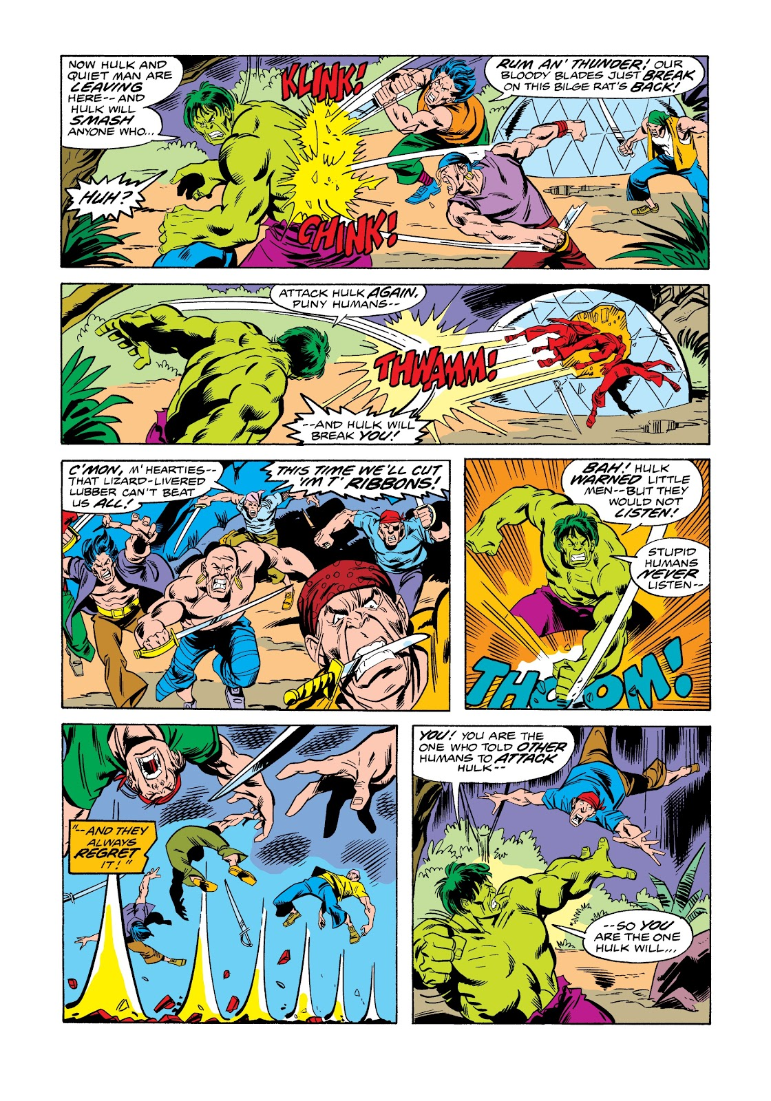 Read online Marvel Masterworks: The Incredible Hulk comic -  Issue # TPB 12 (Part 1) - 21