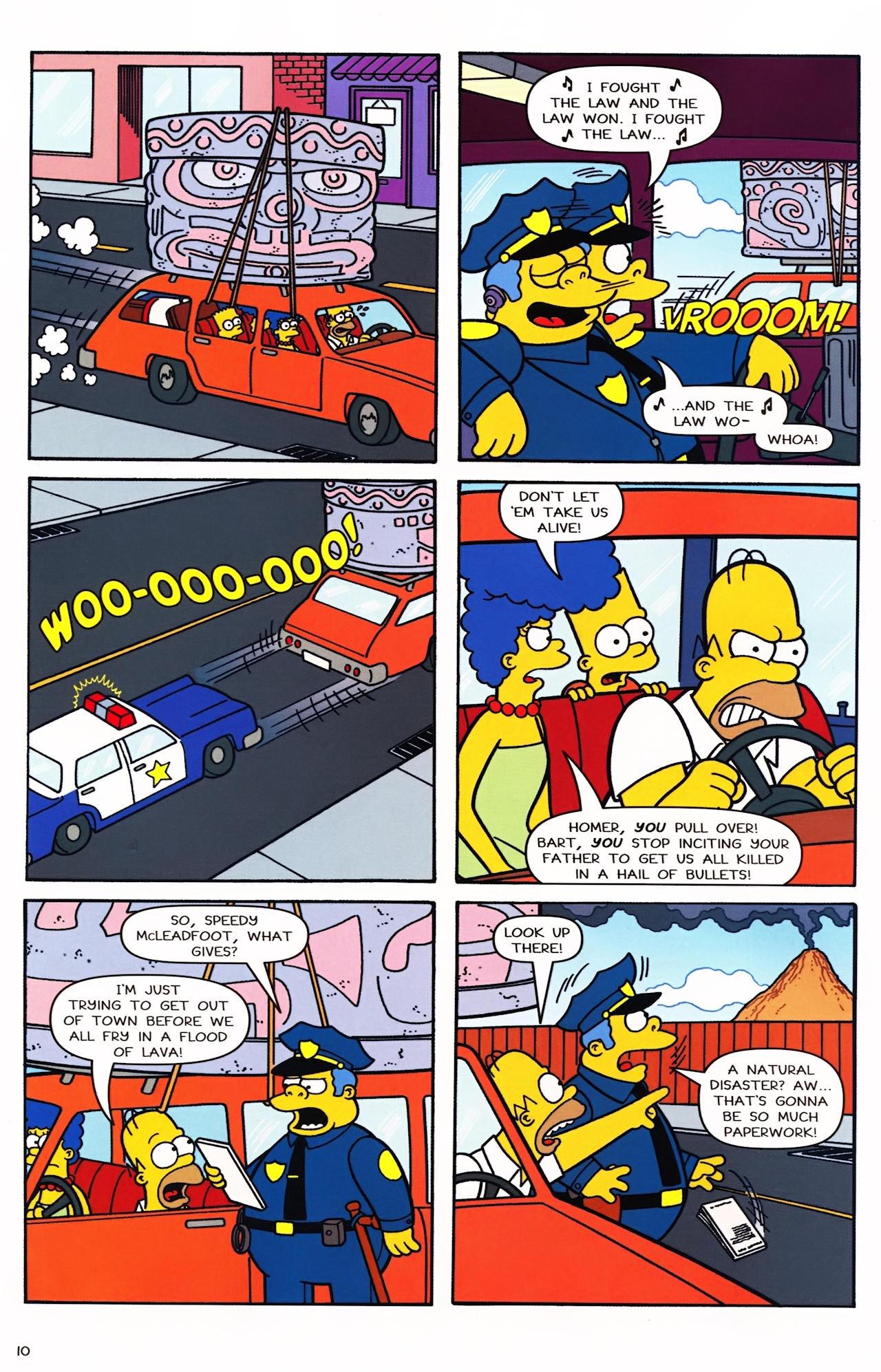 Read online Simpsons Comics comic -  Issue #152 - 9