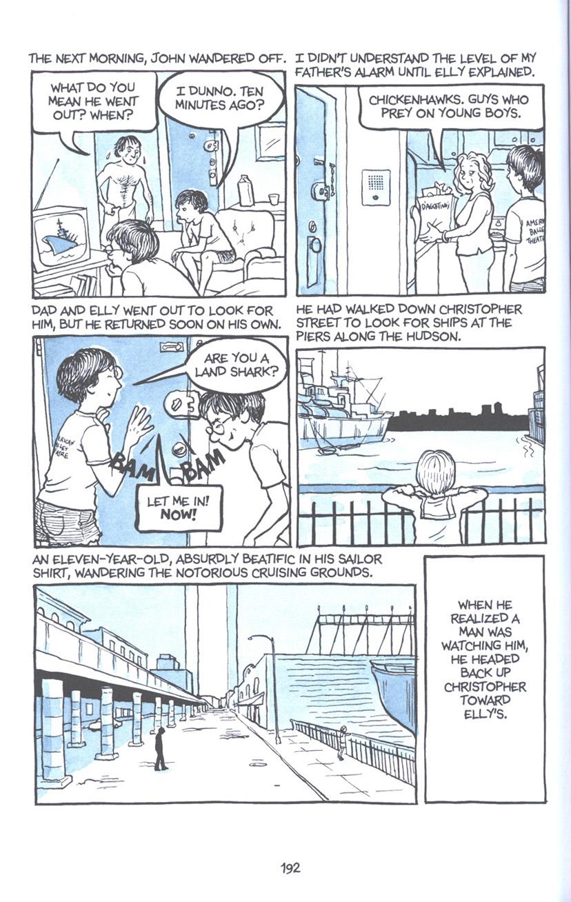 Read online Fun Home: A Family Tragicomic comic -  Issue # TPB - 198
