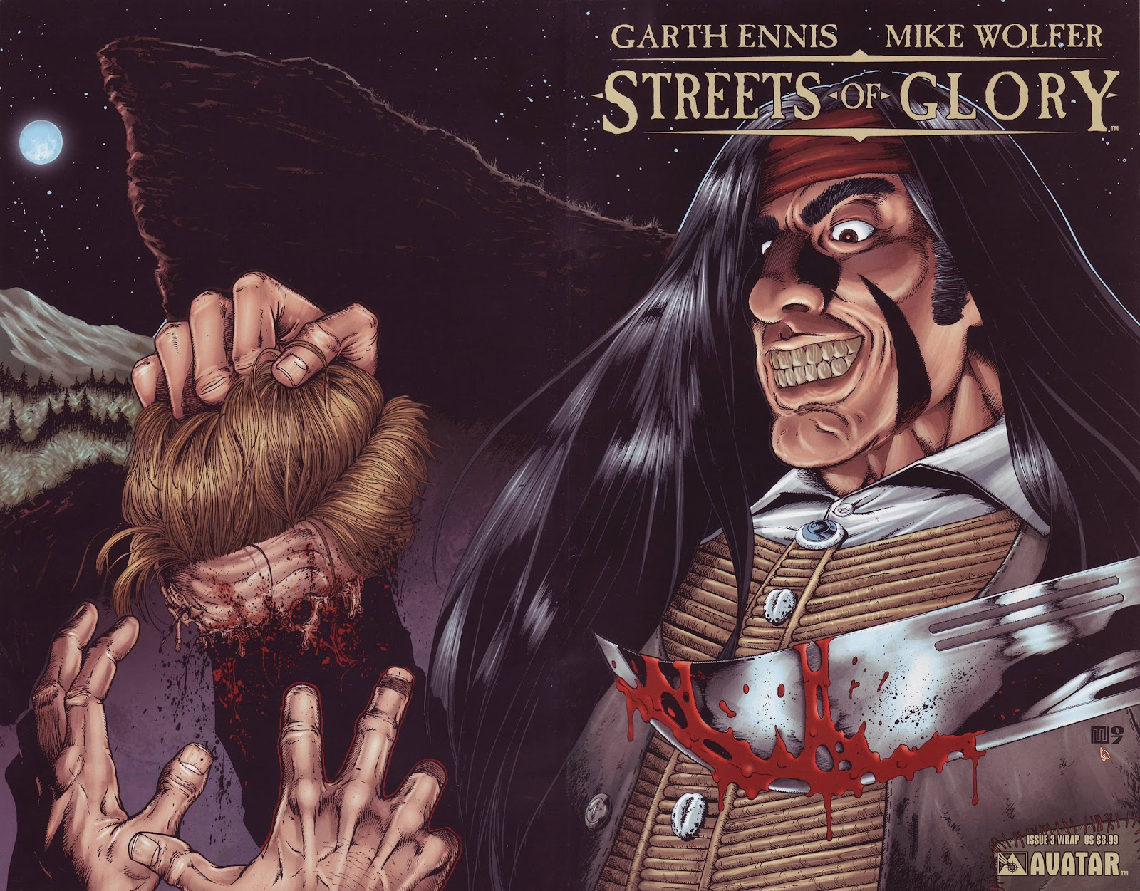 Garth Ennis' Streets of Glory issue 3 - Page 1