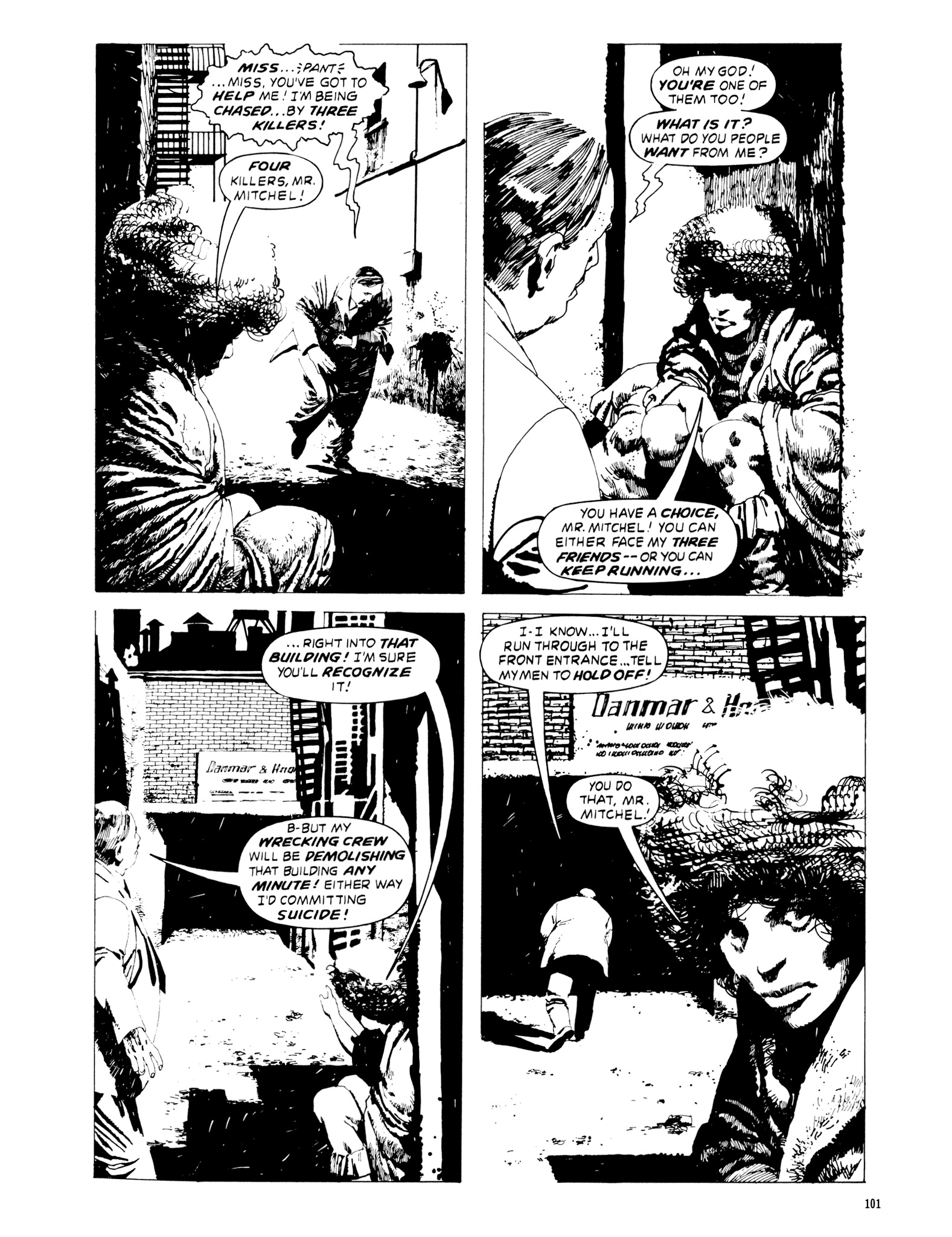 Read online Eerie Archives comic -  Issue # TPB 20 - 101