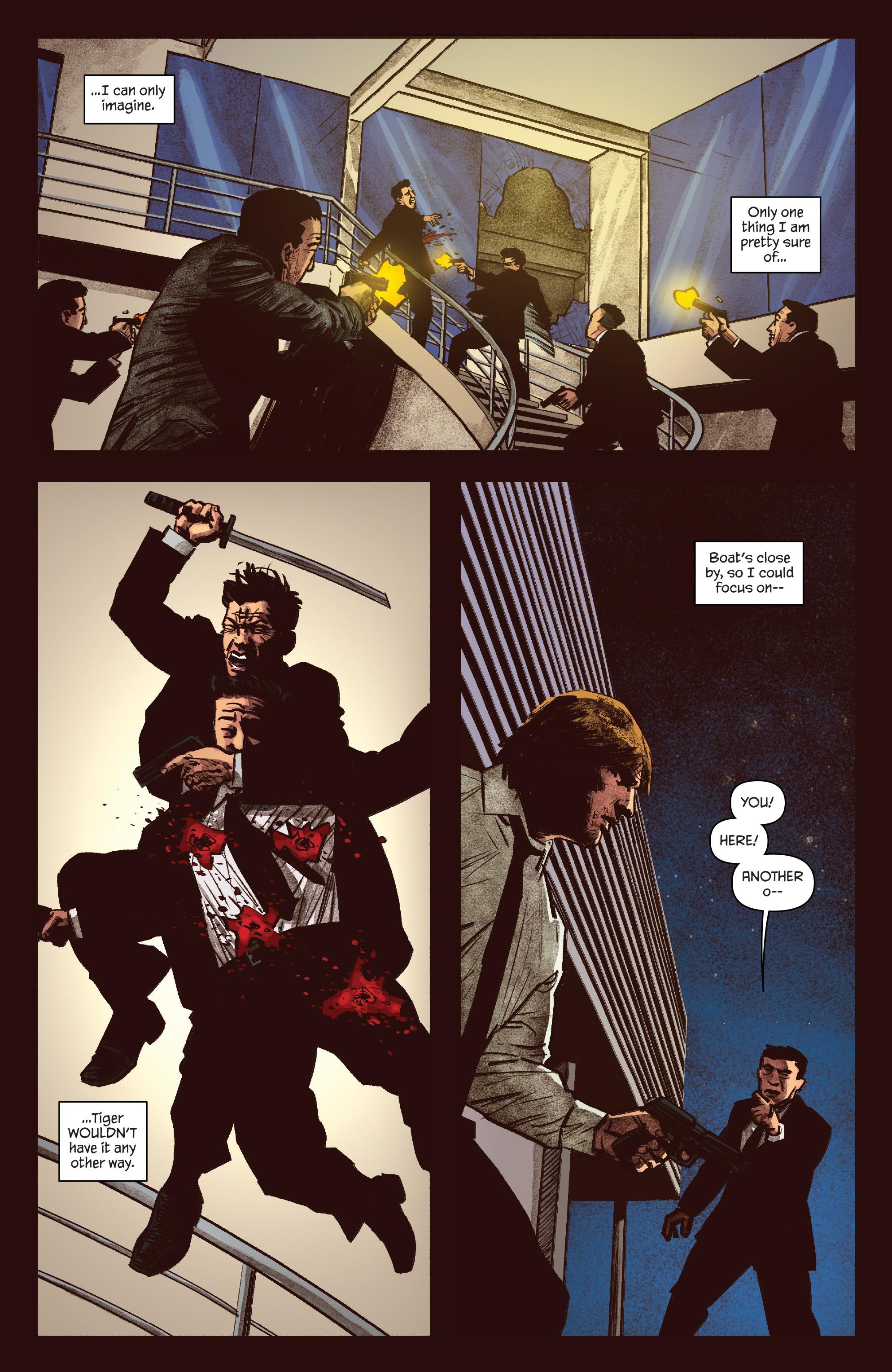 Read online James Bond: Felix Leiter comic -  Issue #5 - 10